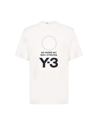 Y-3 Stacked Logo Tee トップス メンズ Y-3 adidas