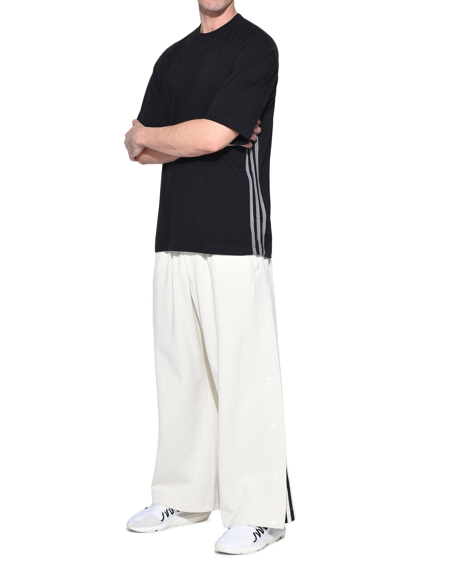 Y-3 Y-3 3-Stripes Tee Short sleeve t-shirt Man a