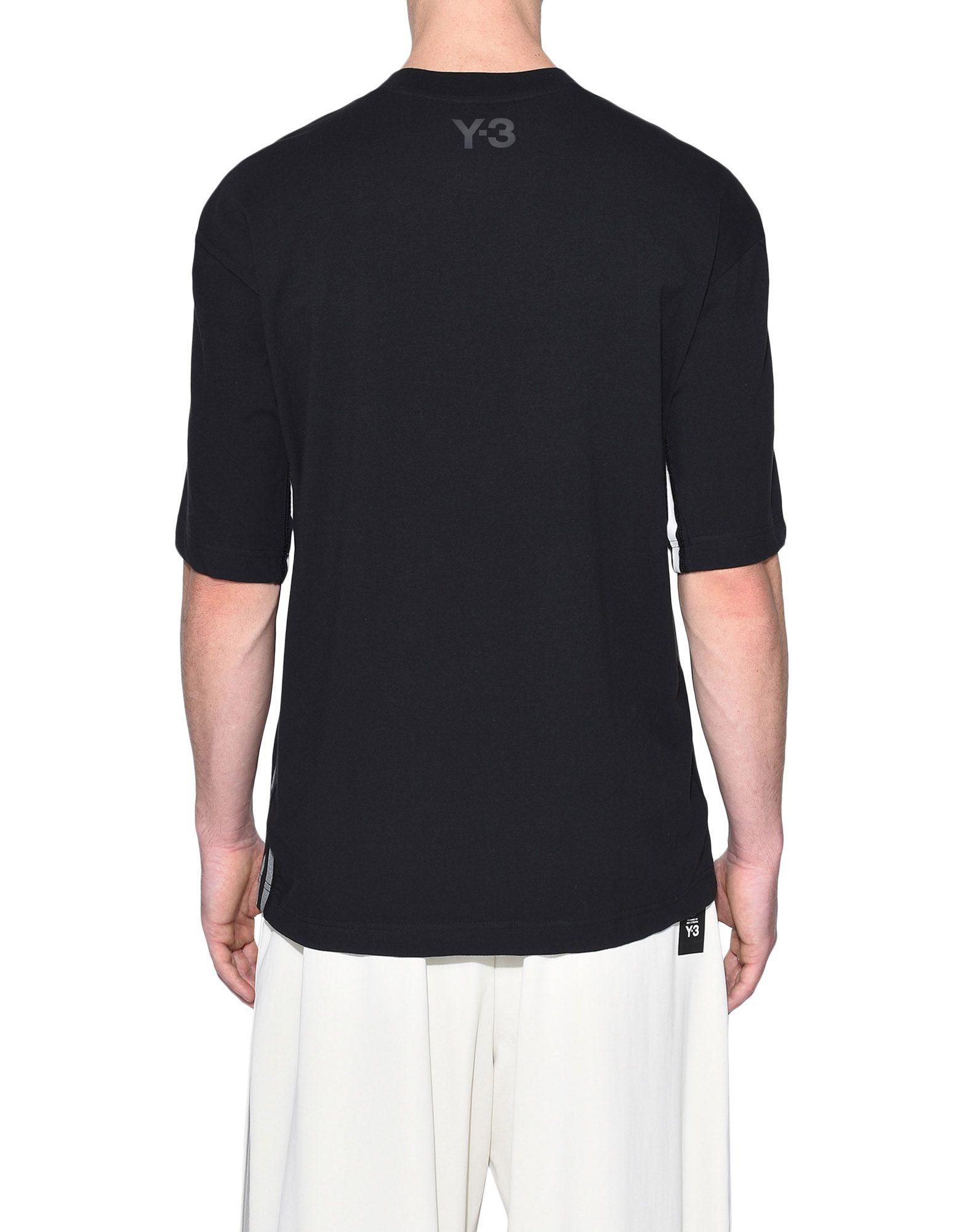 Y-3 Y-3 3-Stripes Tee Short sleeve t-shirt Man d
