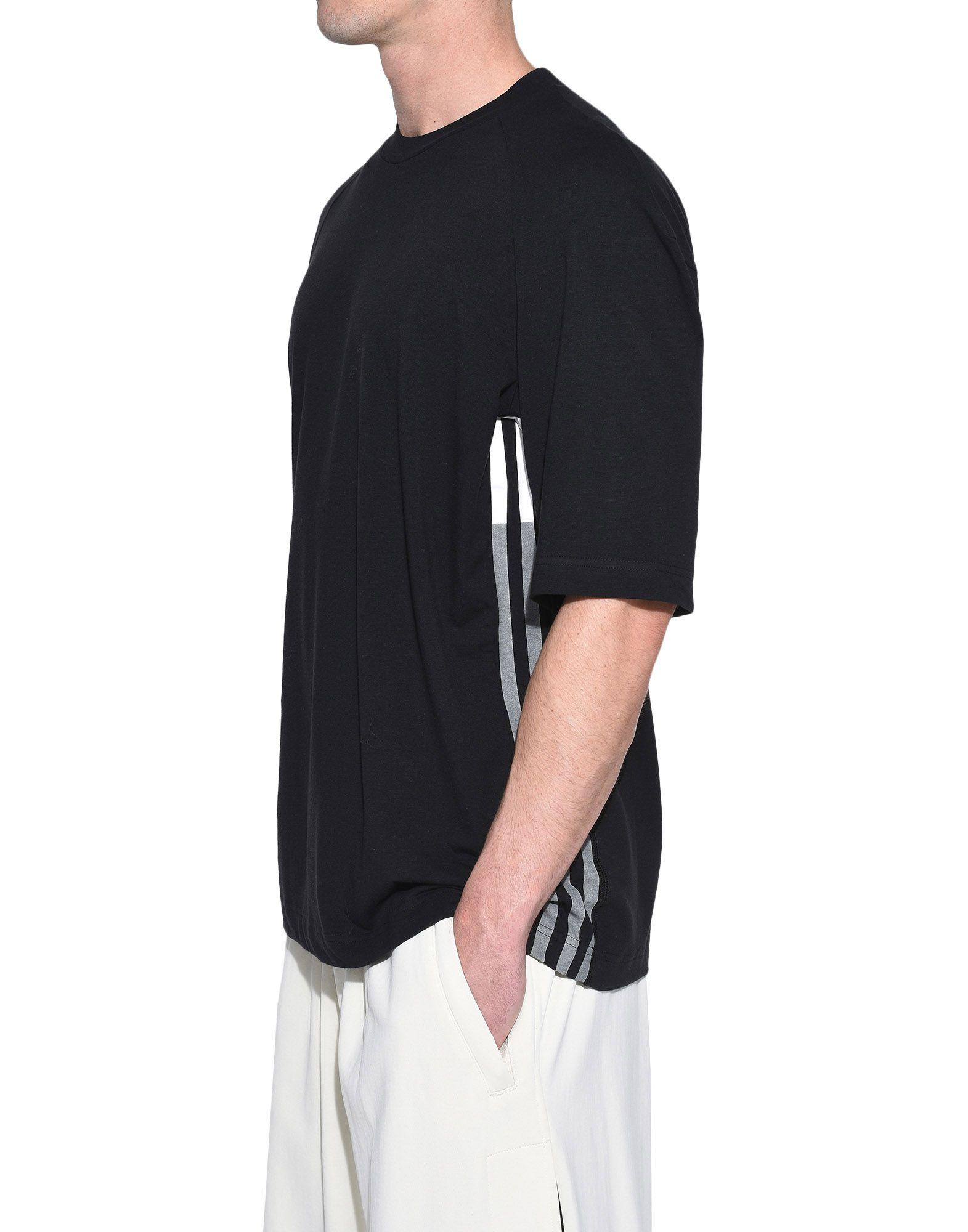 Y-3 Y-3 3-Stripes Tee Short sleeve t-shirt Man e