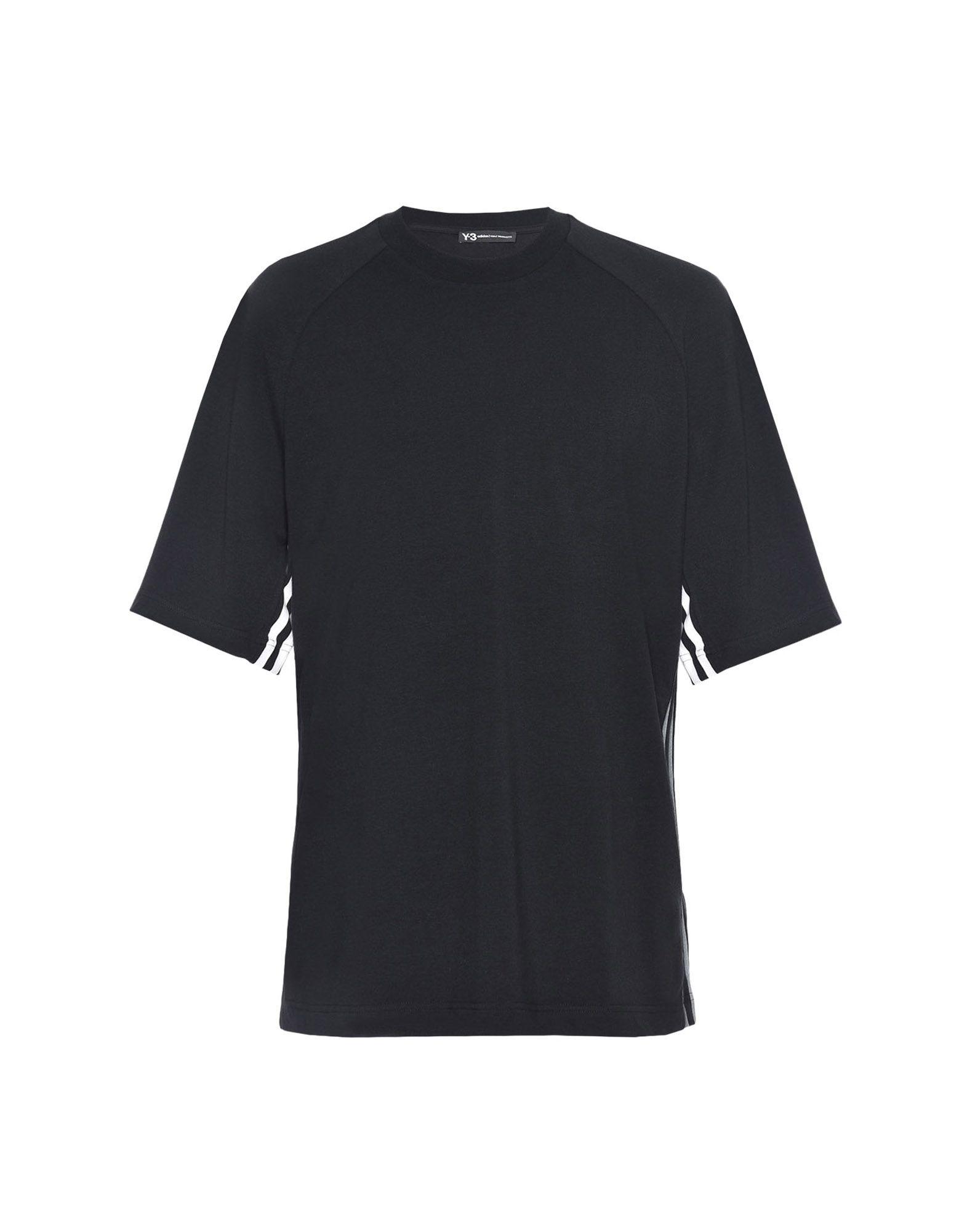 Y-3 Y-3 3-Stripes Tee Short sleeve t-shirt Man f