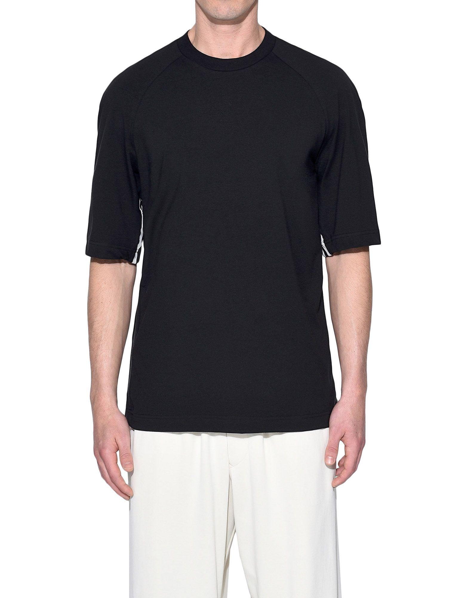 Y-3 Y-3 3-Stripes Tee Short sleeve t-shirt Man r