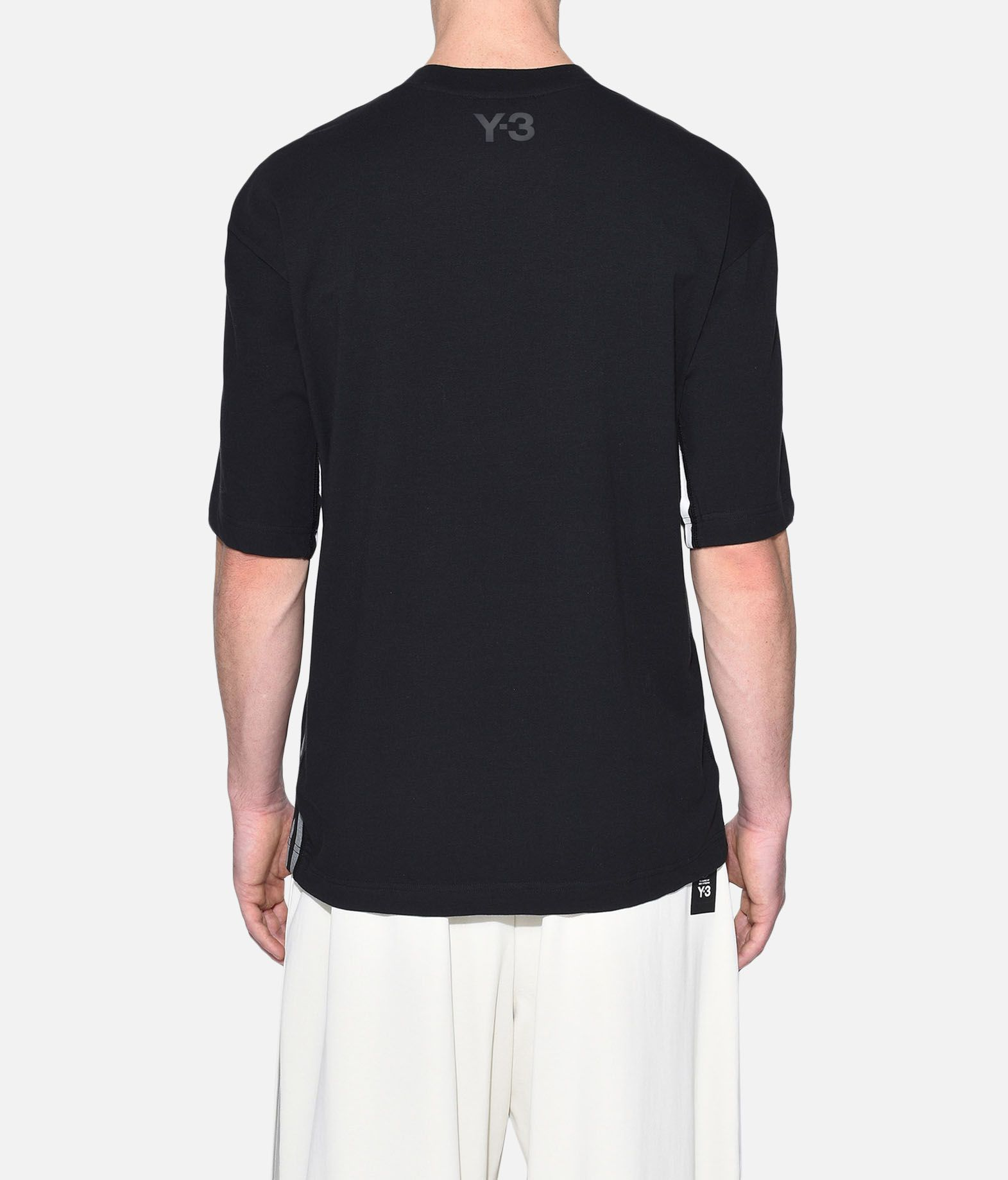 Y-3 Y-3 3-Stripes Tee Short sleeve t-shirt Man d