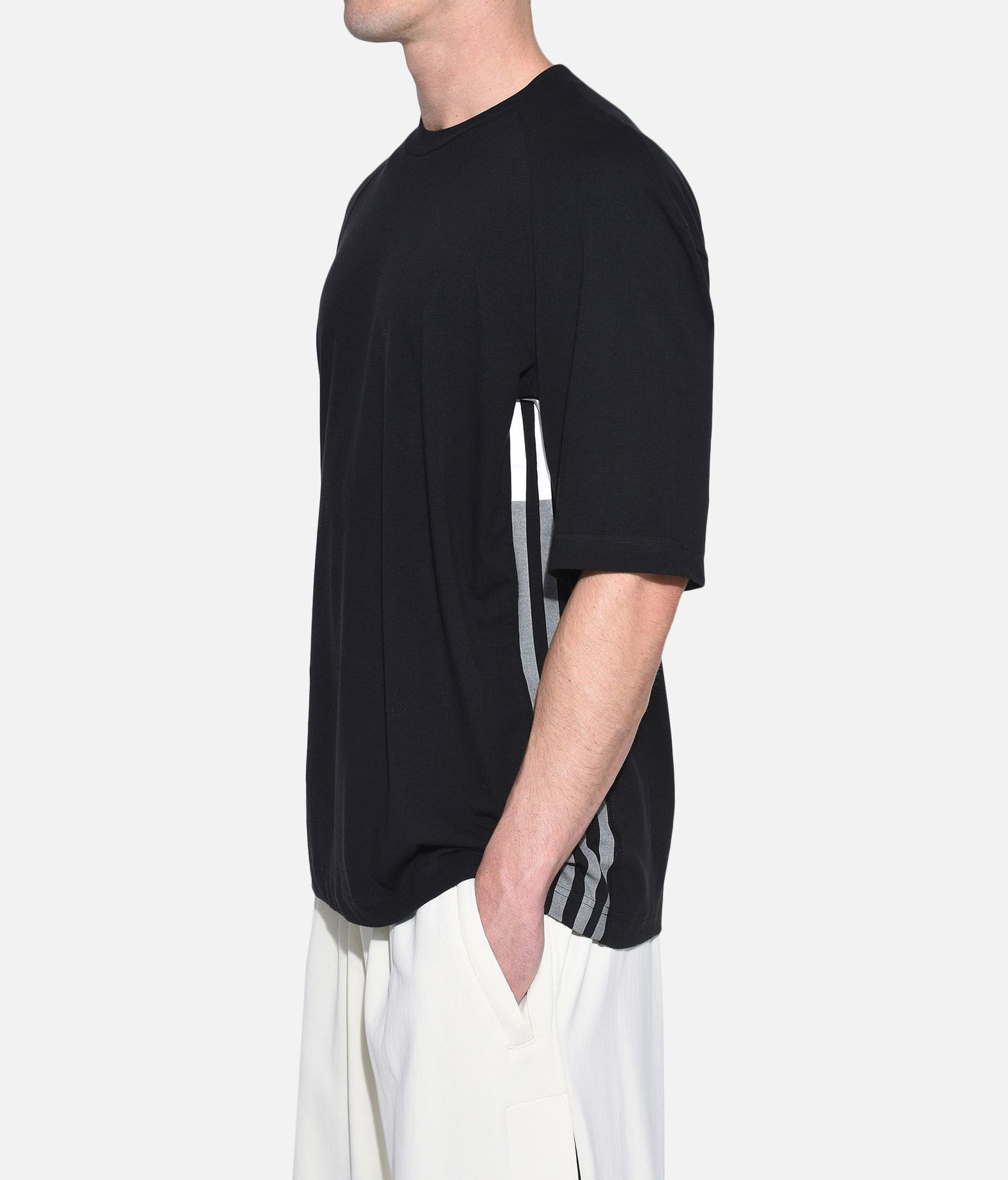 Y-3 Y-3 3-Stripes Tee Short sleeve t-shirt Man e