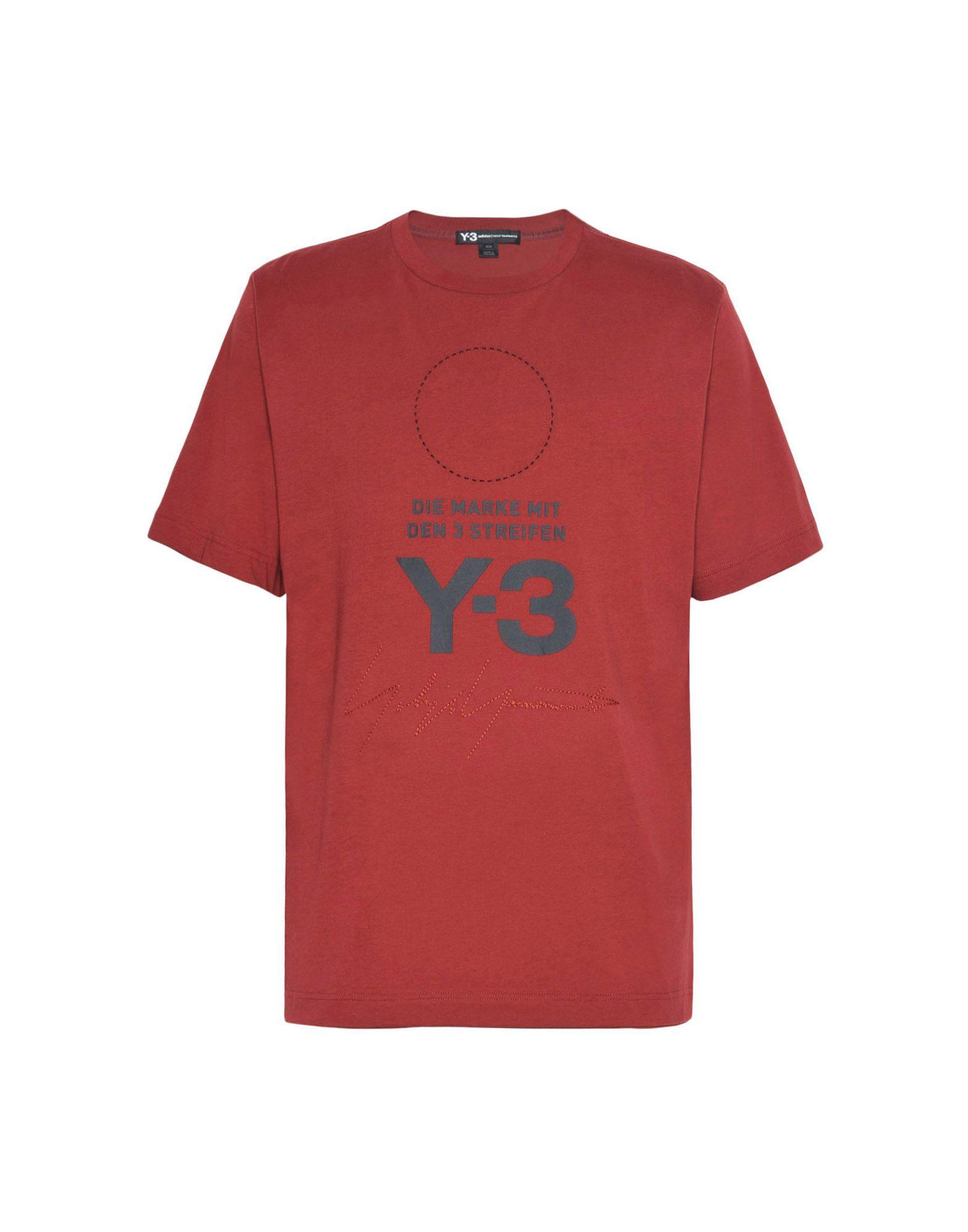 Y-3 Y-3 Stacked Logo Tee Short sleeve t-shirt Man f