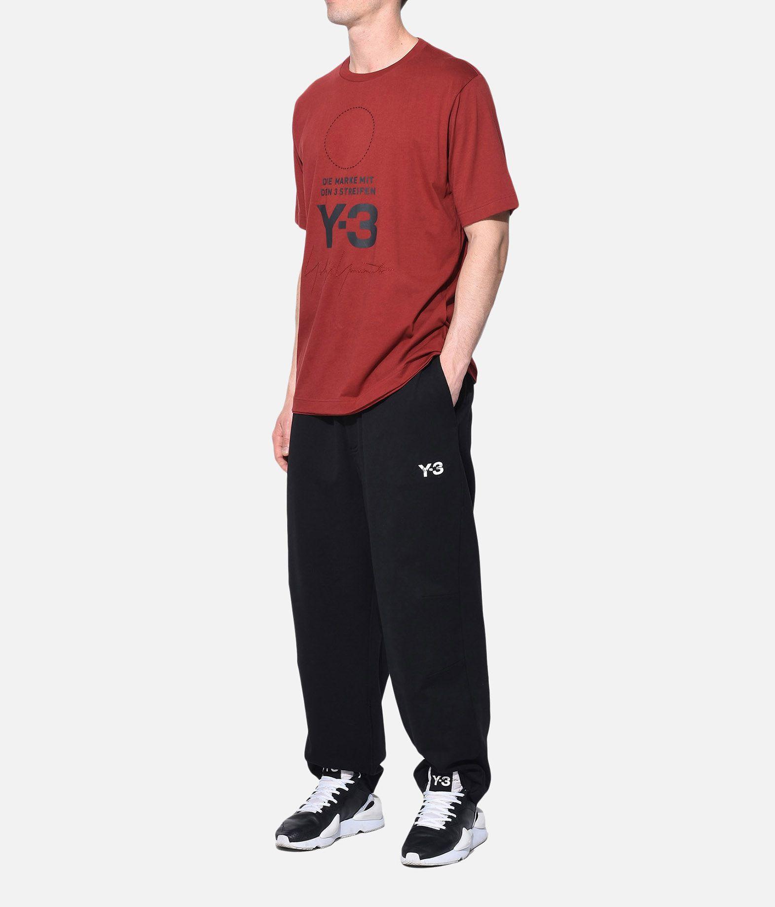 Y-3 Y-3 Stacked Logo Tee T-shirt maniche corte Uomo a