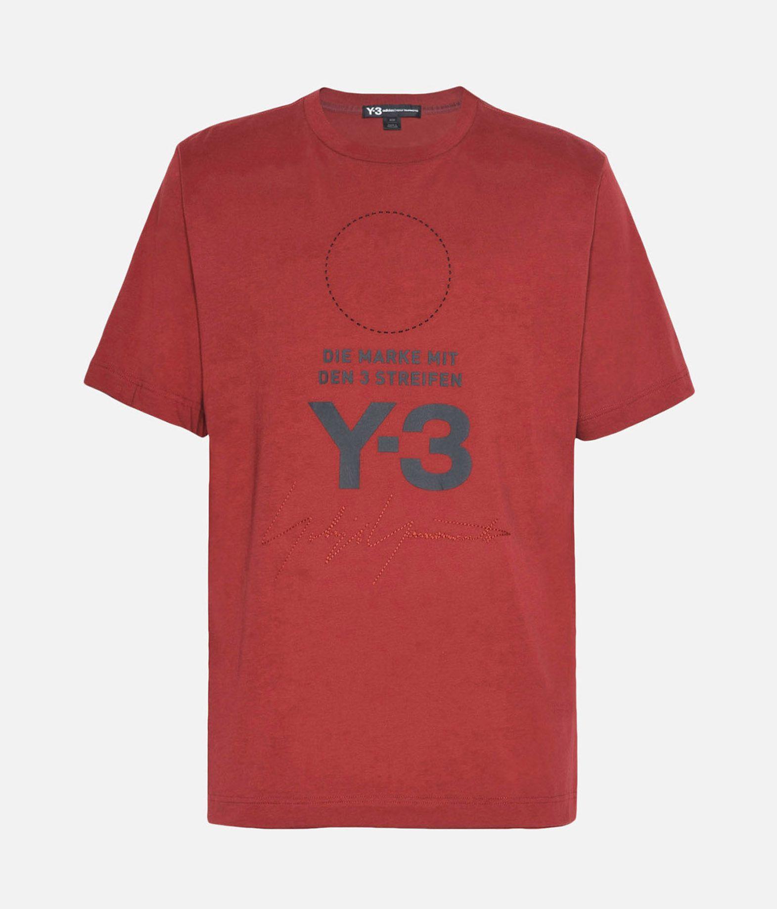 Y-3 Y-3 Stacked Logo Tee T-shirt maniche corte Uomo f