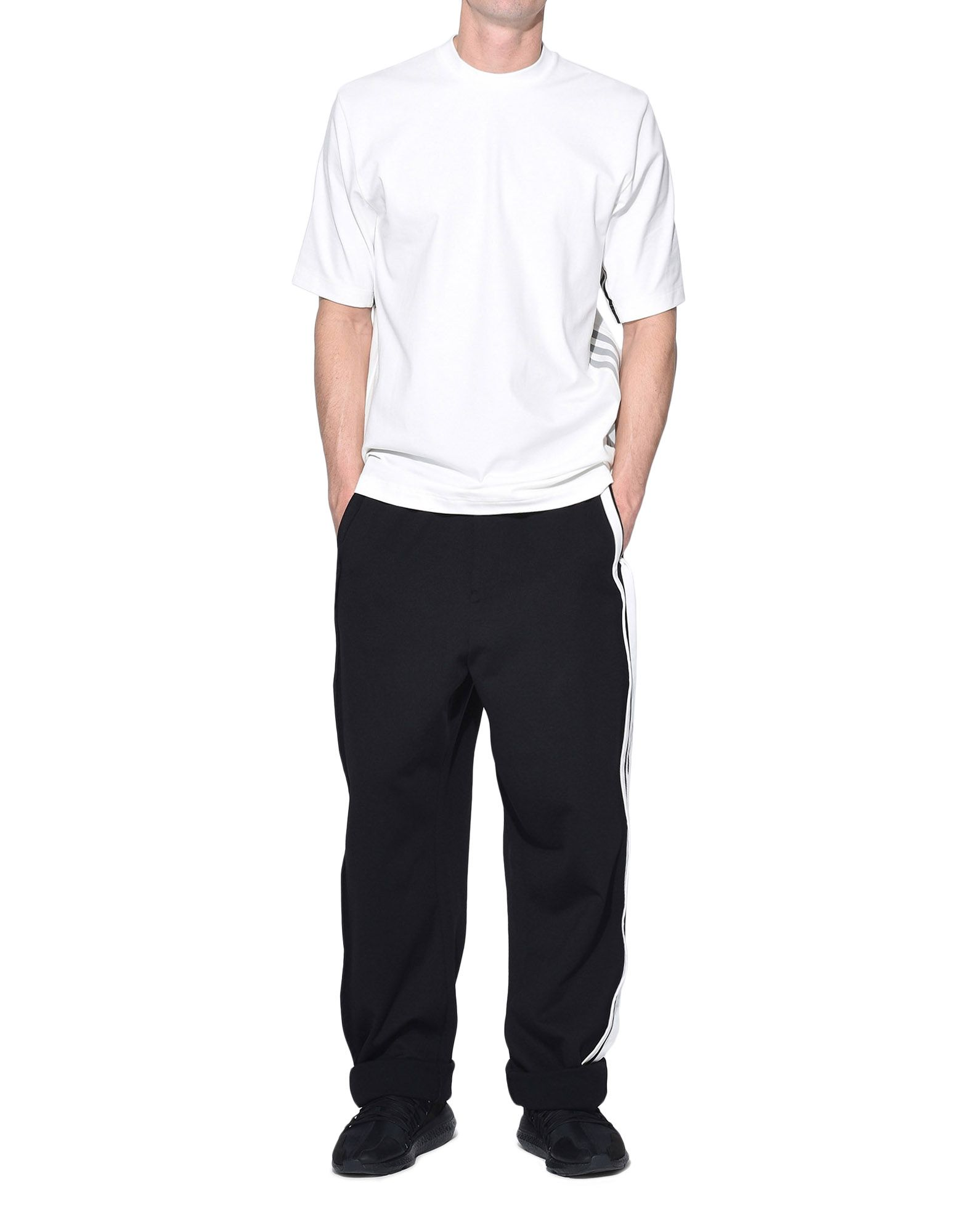 Y-3 Y-3 3-Stripes Tee Short sleeve t-shirt Man a