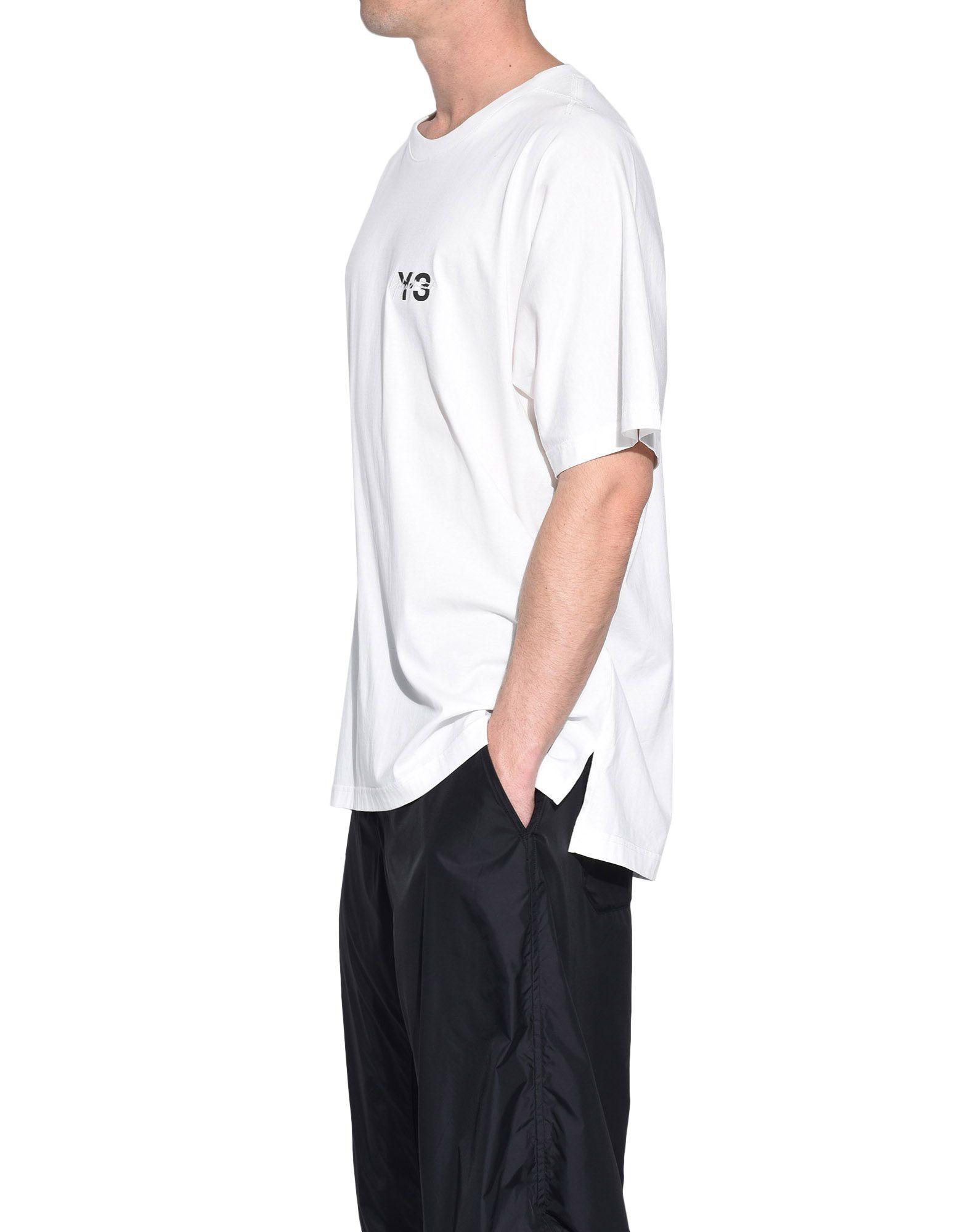 Y-3 Y-3 Signature Tee Short sleeve t-shirt Man e