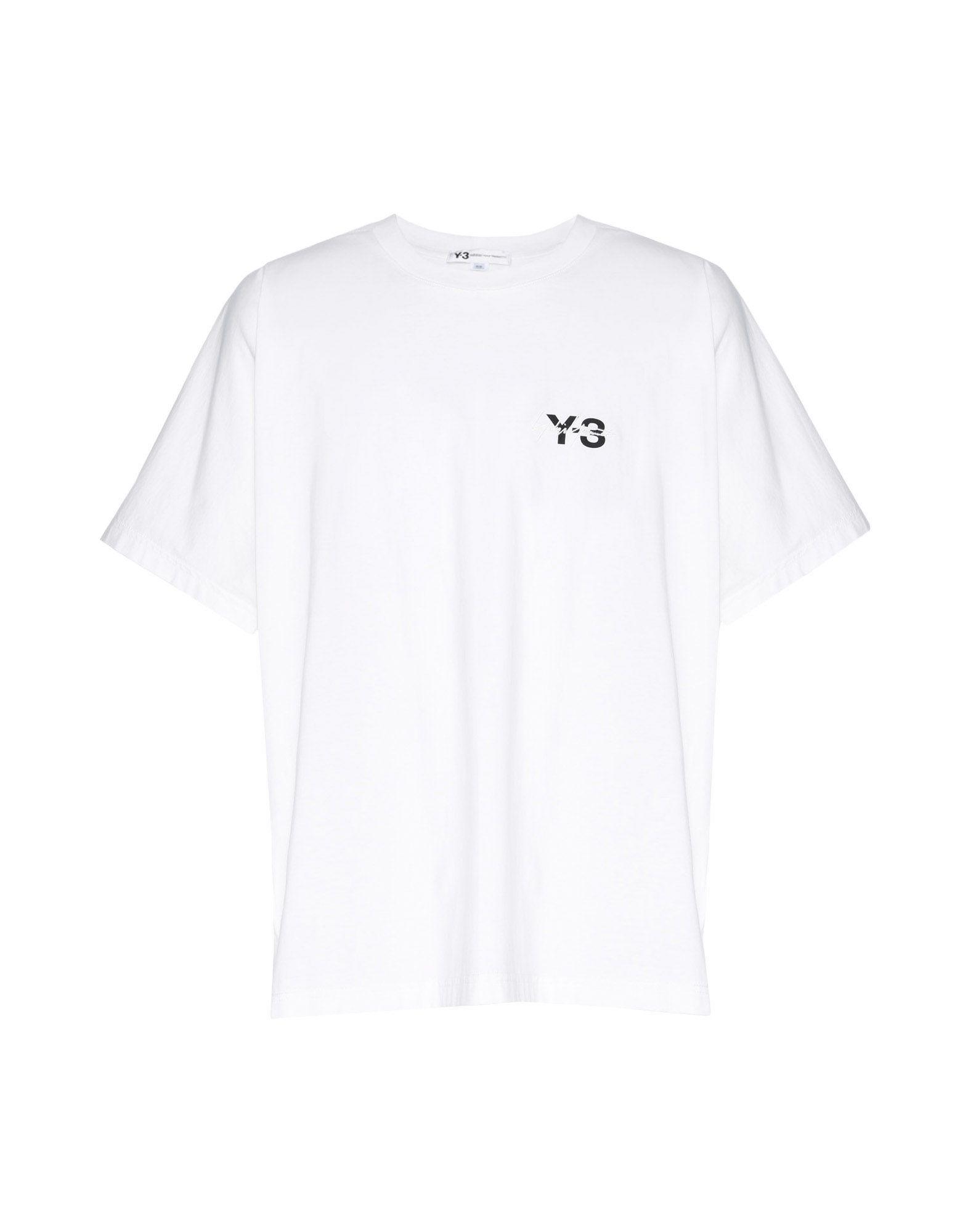 Y-3 Y-3 Signature Tee Short sleeve t-shirt Man f