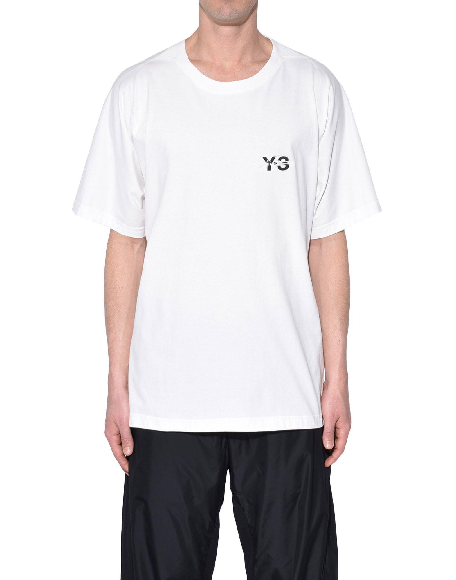 Y-3 Y-3 Signature Tee Short sleeve t-shirt Man r