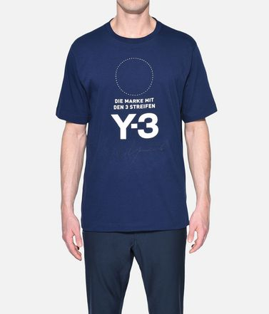 Y-3 Short sleeve t-shirt Man Y-3 Stacked Logo Tee r