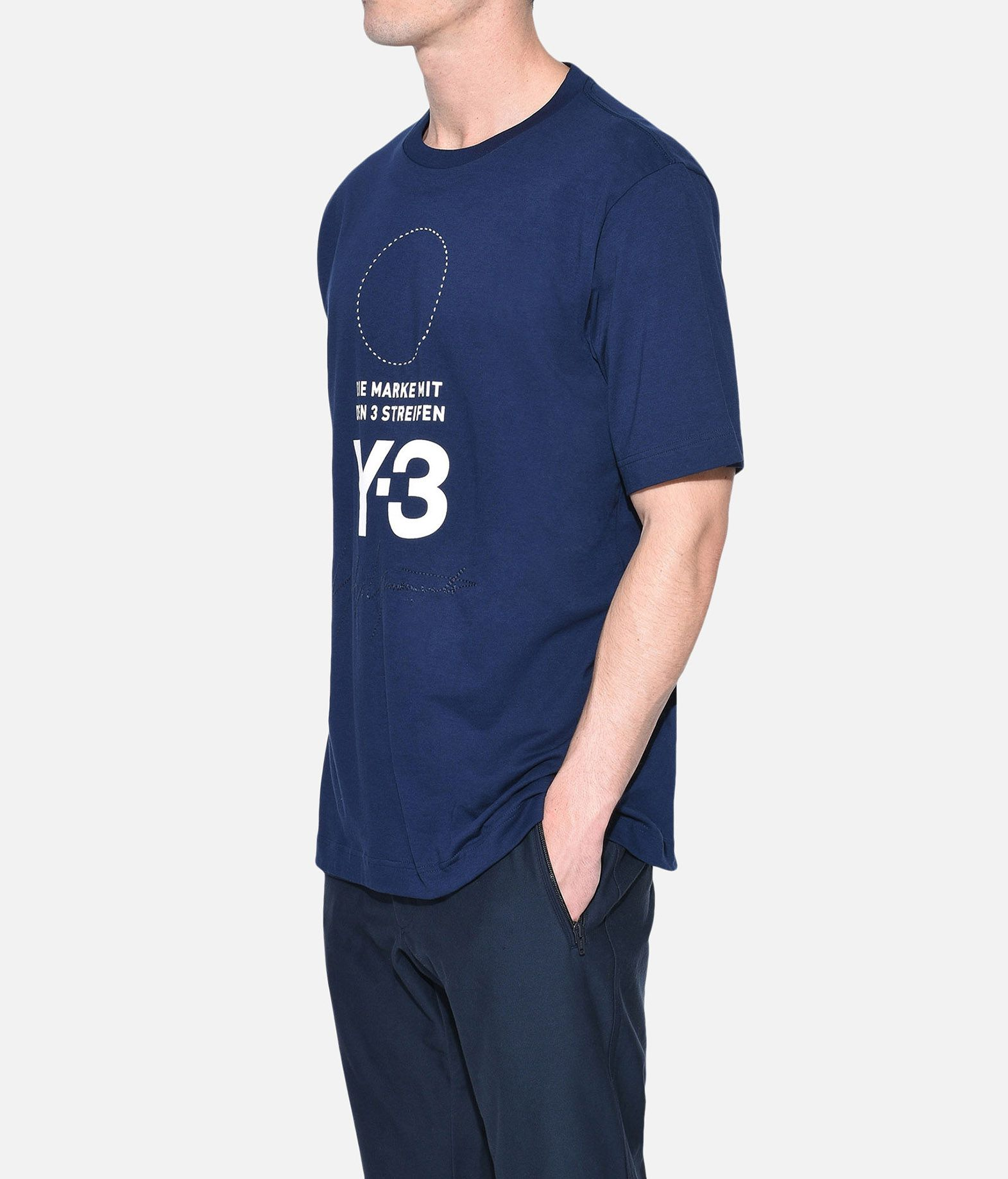 Y-3 Y-3 Stacked Logo Tee Short sleeve t-shirt Man e