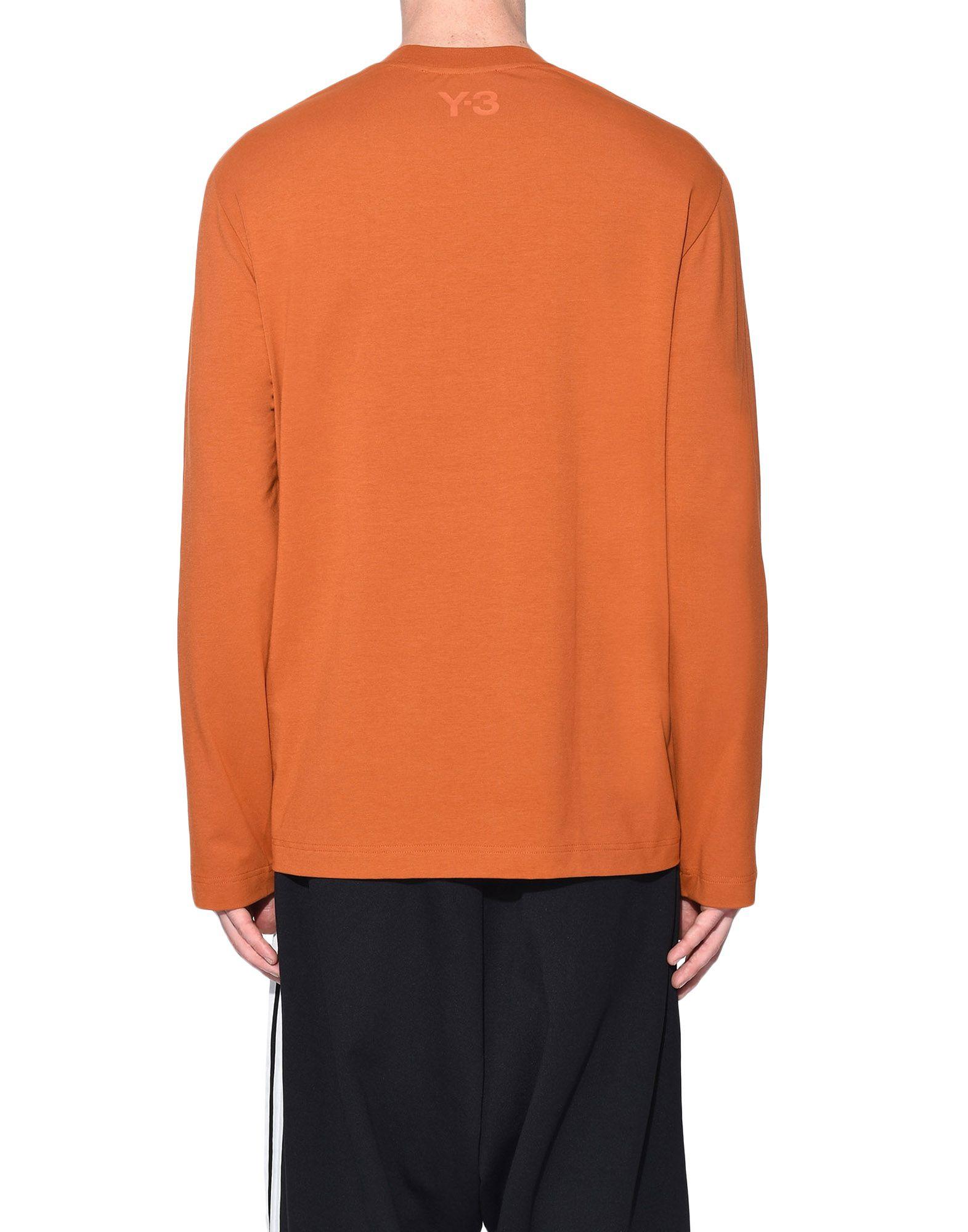 Y-3 Y-3 3-Stripes Tee Long sleeve t-shirt Man d