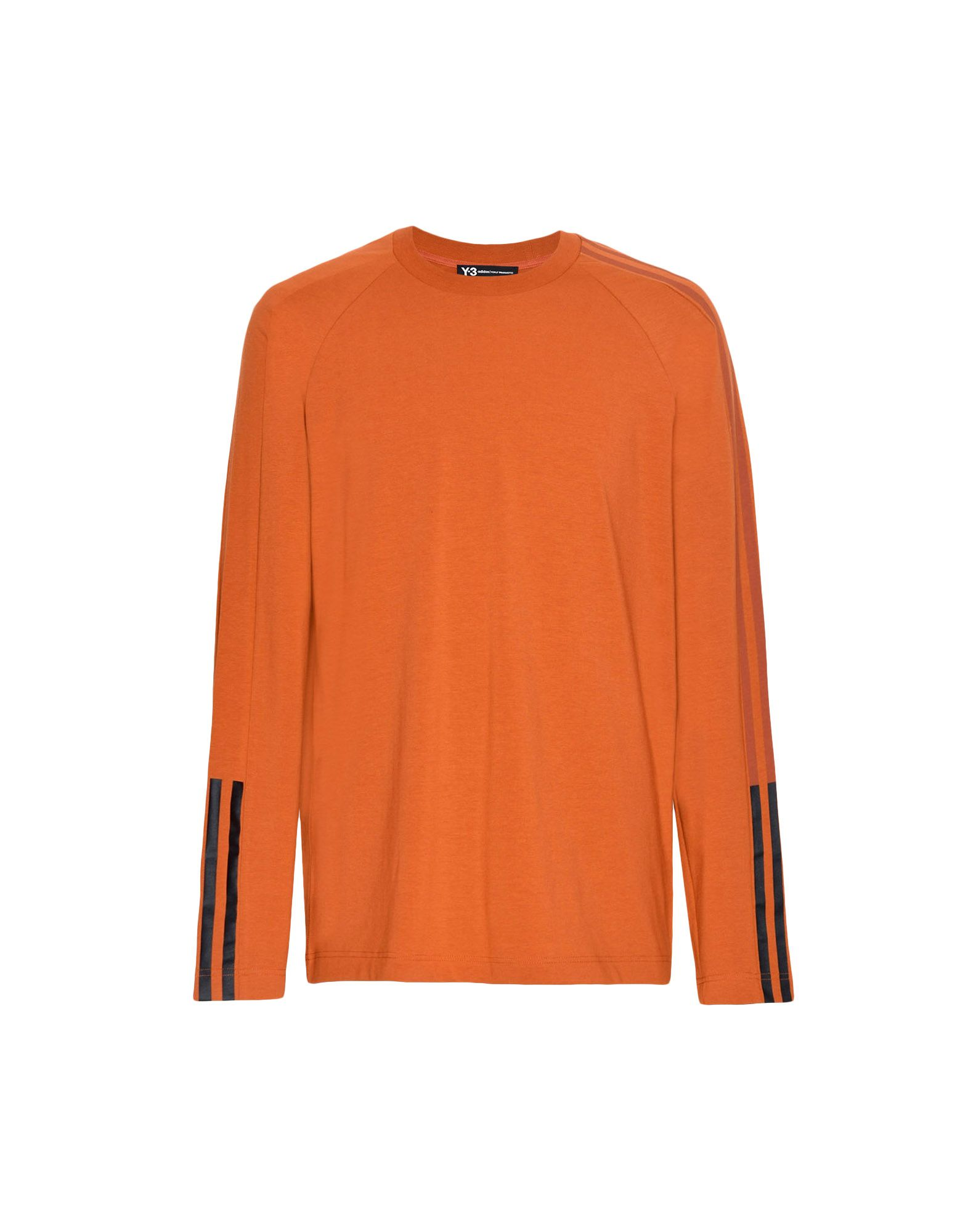 Y-3 Y-3 3-Stripes Tee Long sleeve t-shirt Man f