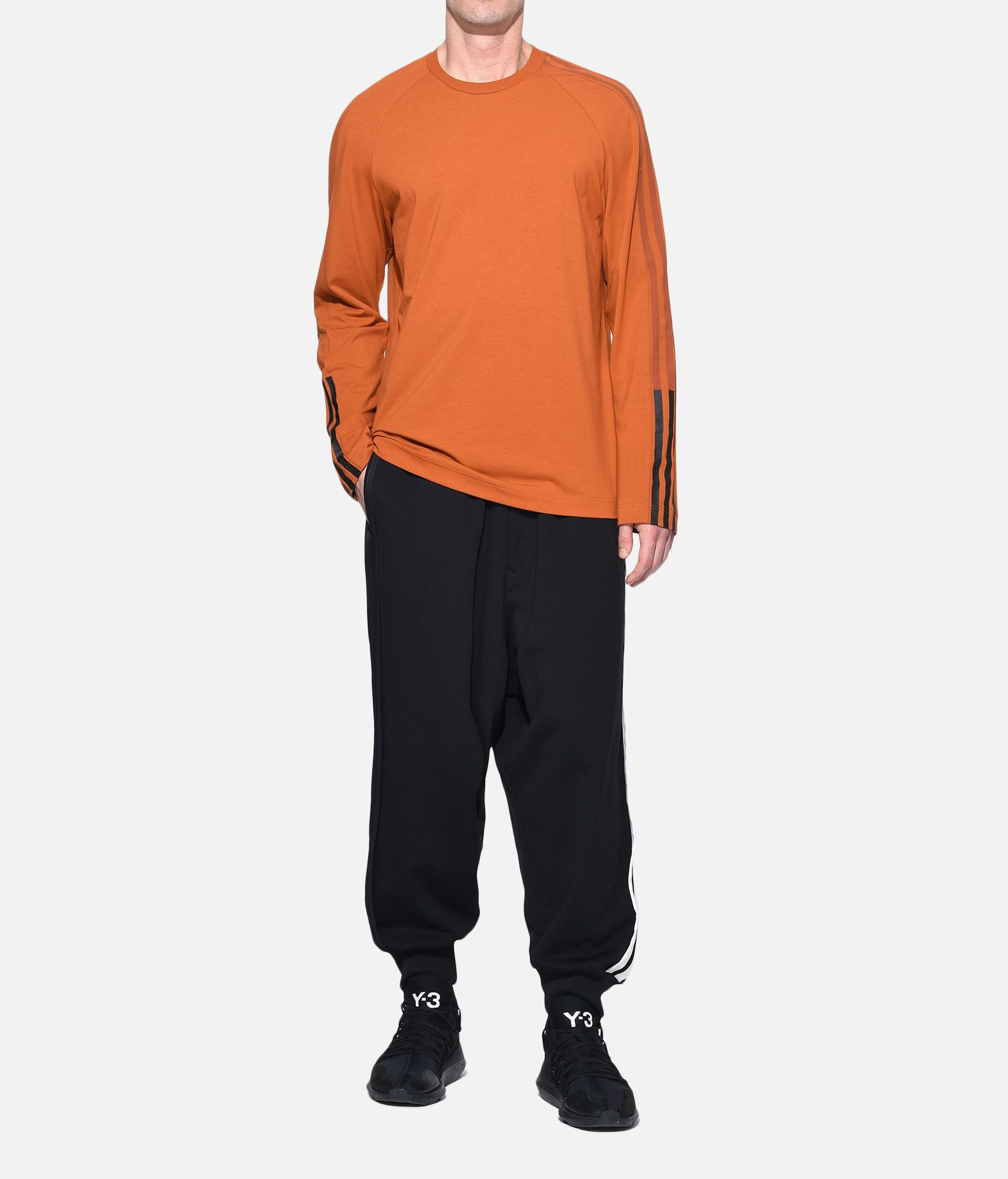 Y-3 Y-3 3-Stripes Tee Long sleeve t-shirt Man a