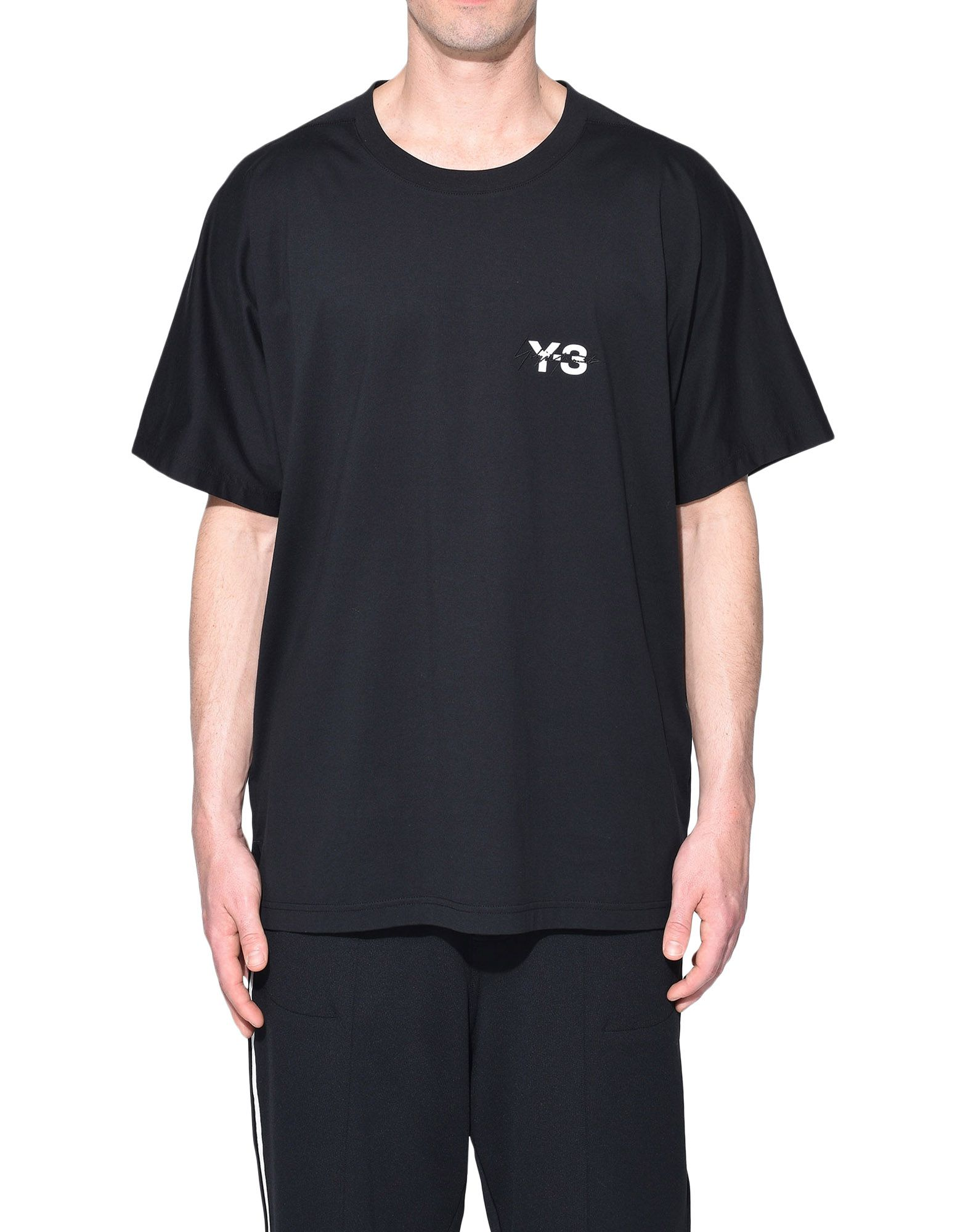 Y-3 Y-3 Signature Tee Short sleeve t-shirt Man r