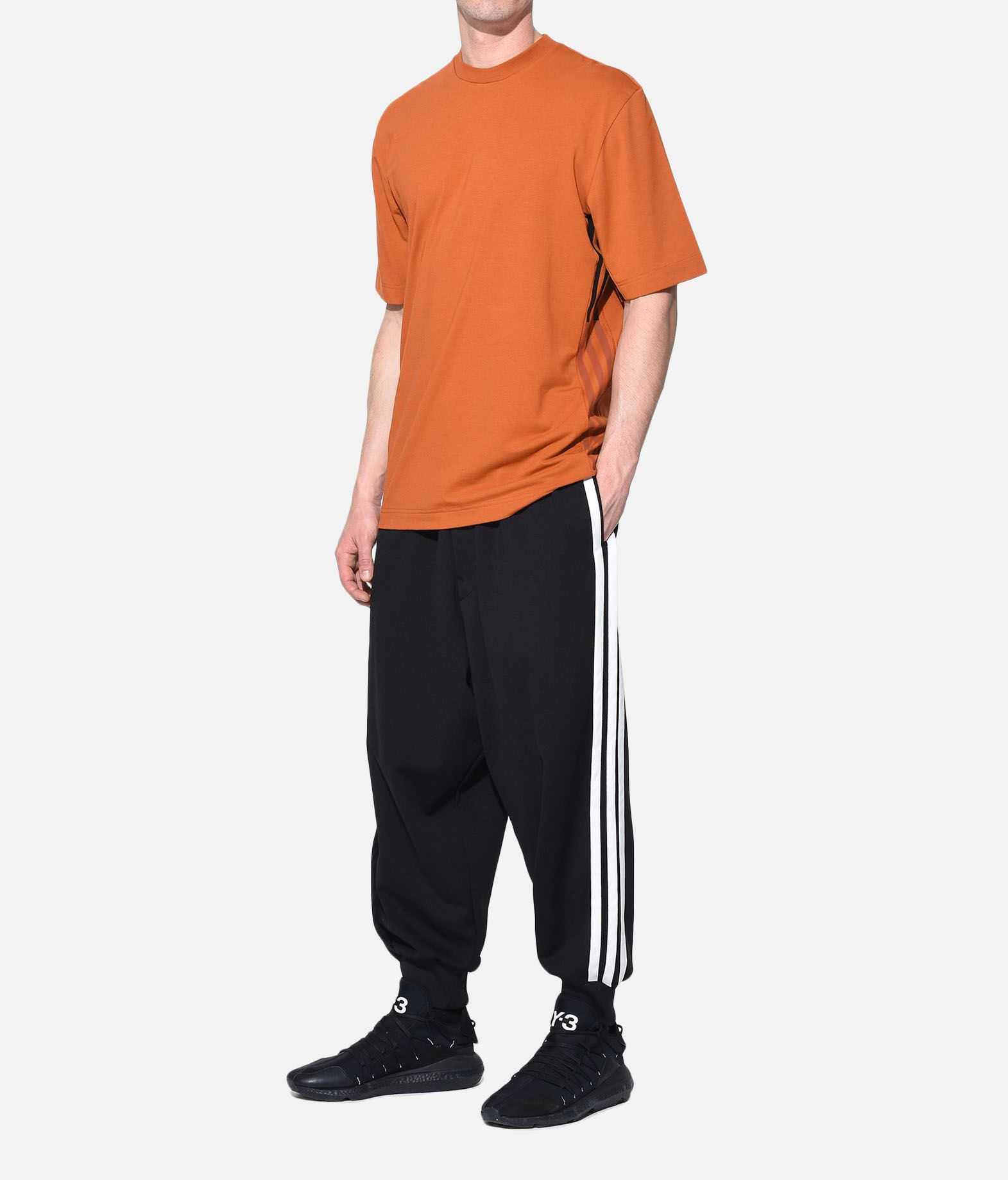 Y-3 Y-3 3-Stripes Tee Kurzärmliges T-shirt Herren a
