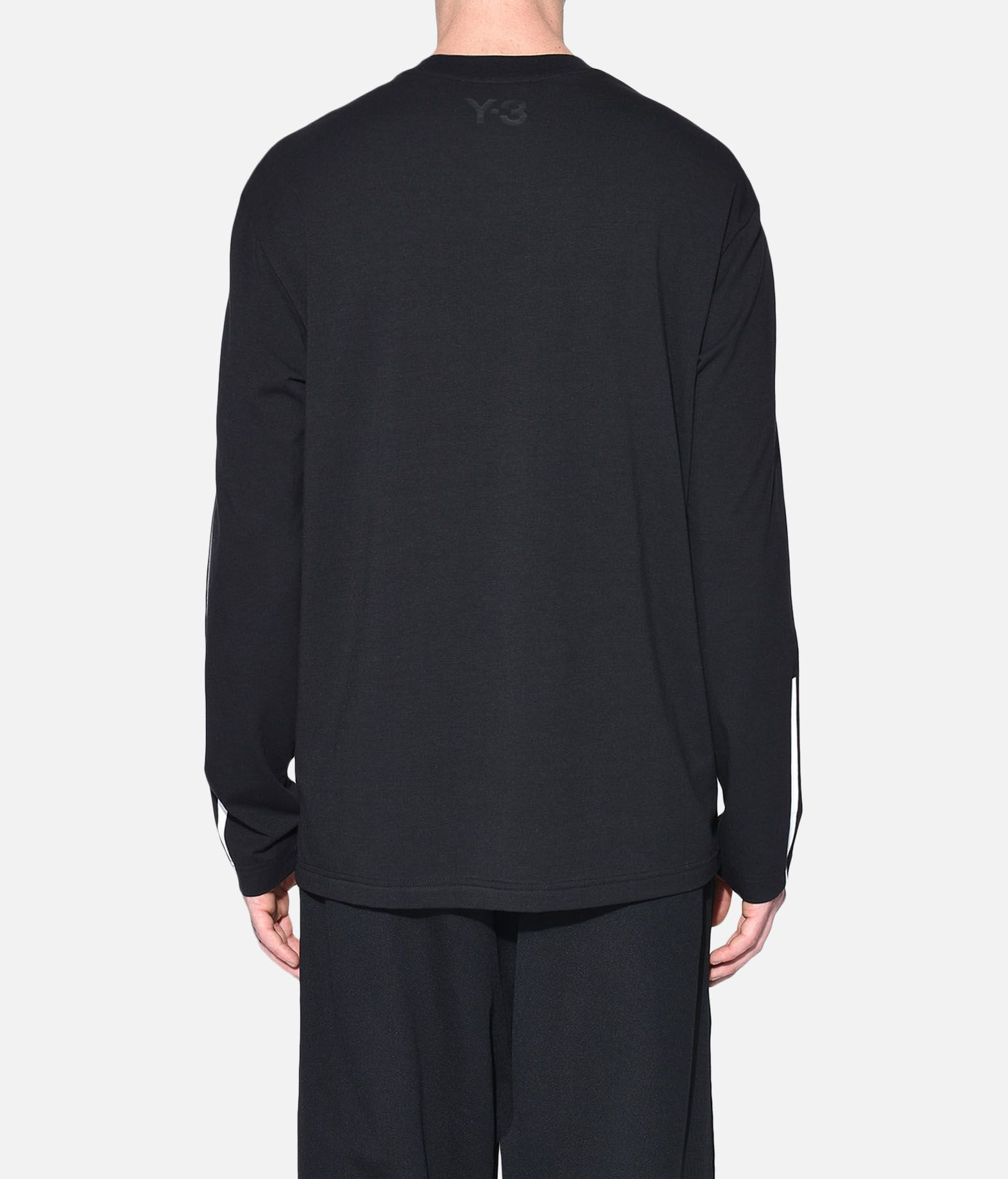 Y-3 Y-3 3-Stripes Tee Long sleeve t-shirt Man d