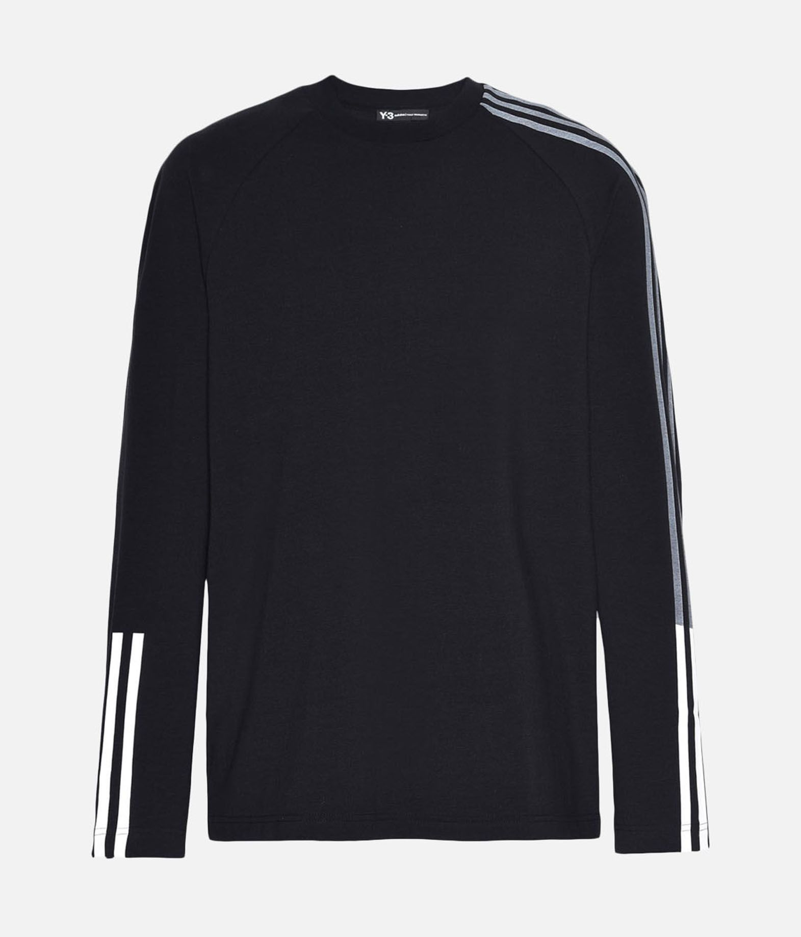 Y-3 Y-3 3-Stripes Tee Long sleeve t-shirt Man f