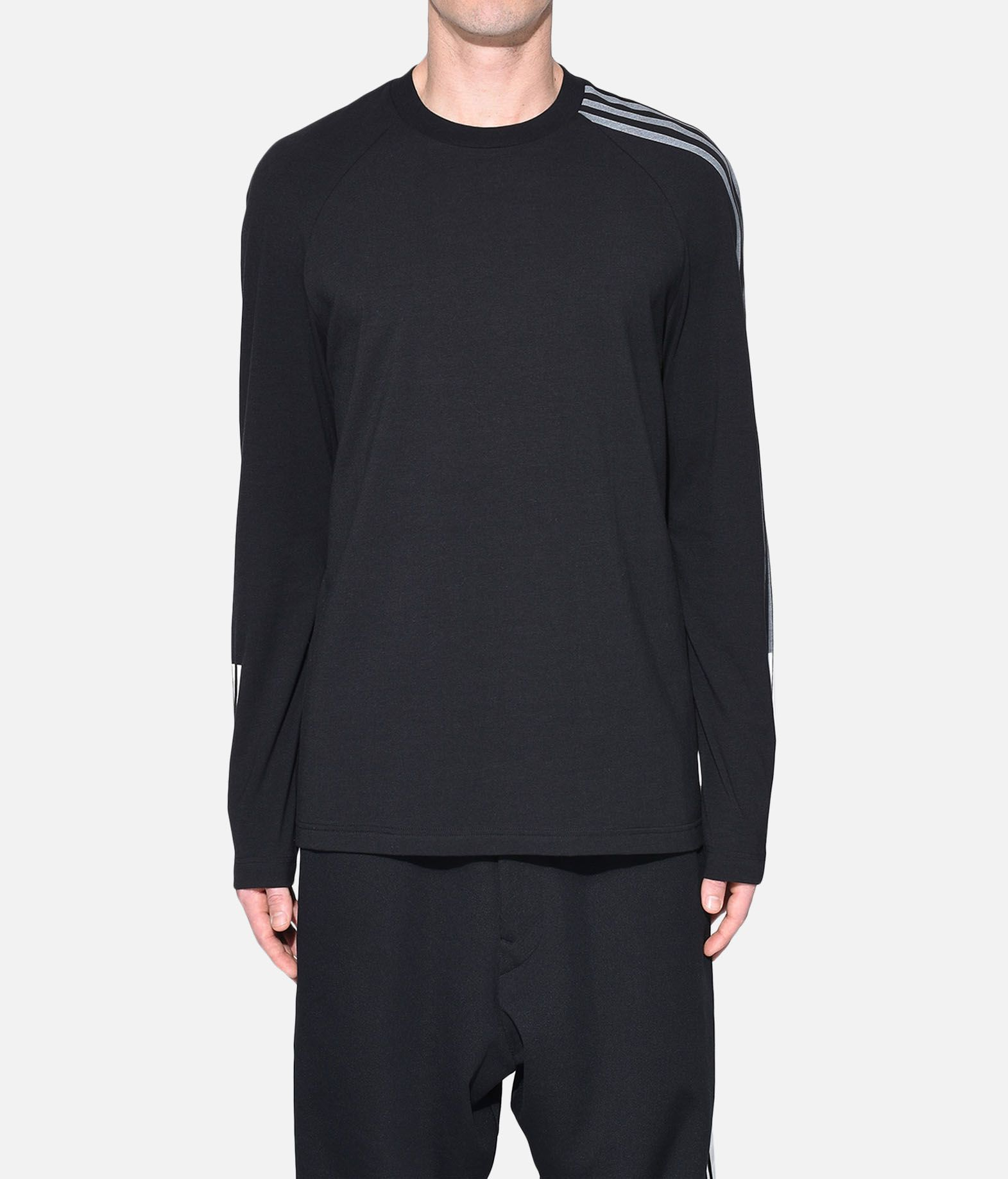Y-3 Y-3 3-Stripes Tee Long sleeve t-shirt Man r