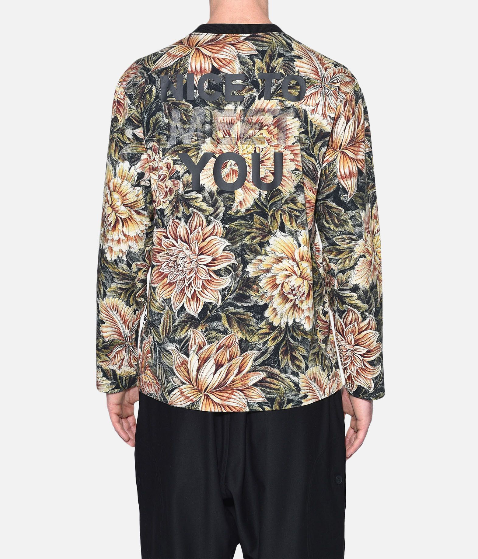 Y-3 Y-3 AOP Tee Long sleeve t-shirt Man d