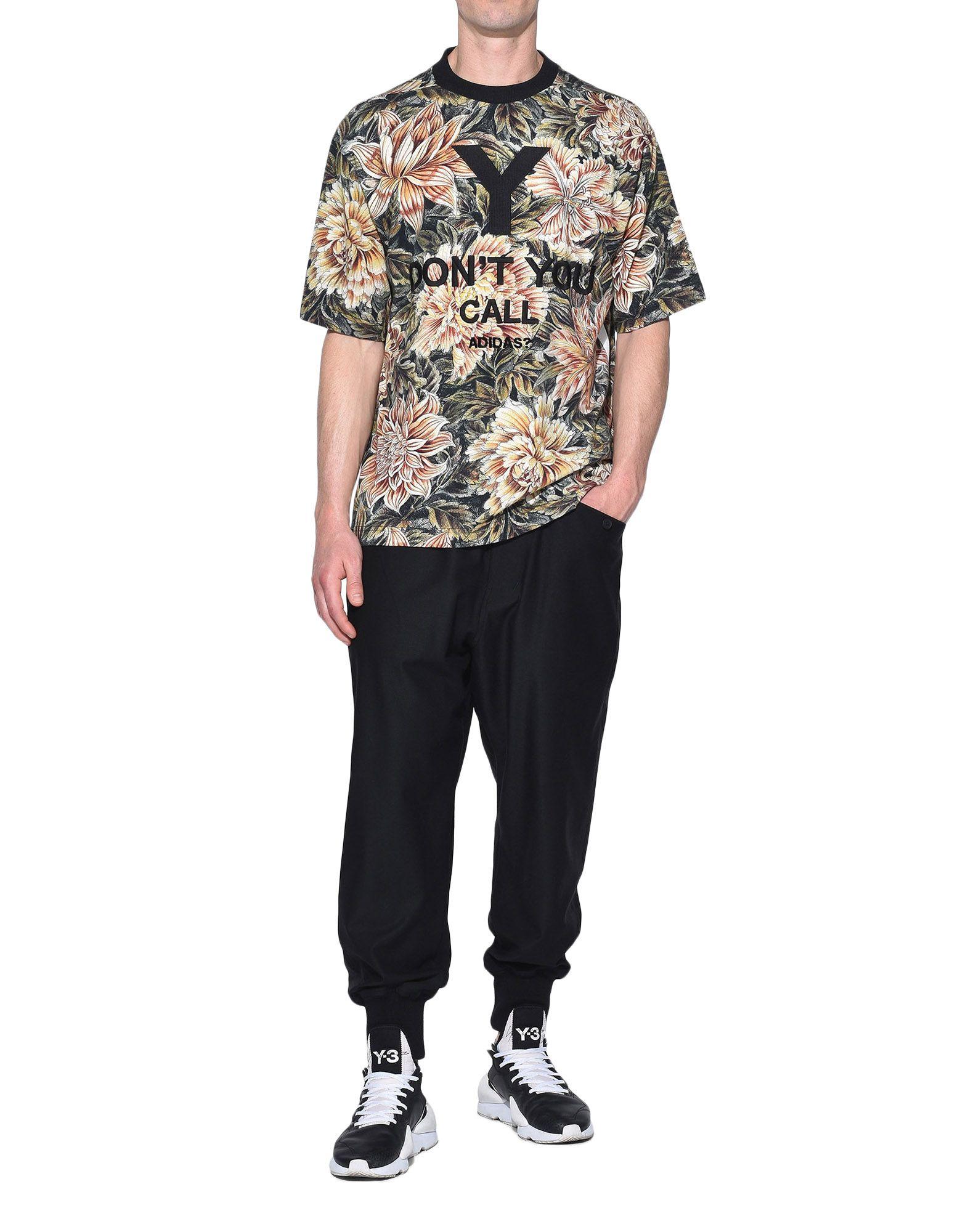 Y-3 Y-3 AOP High Neck Tee Short sleeve t-shirt Man a
