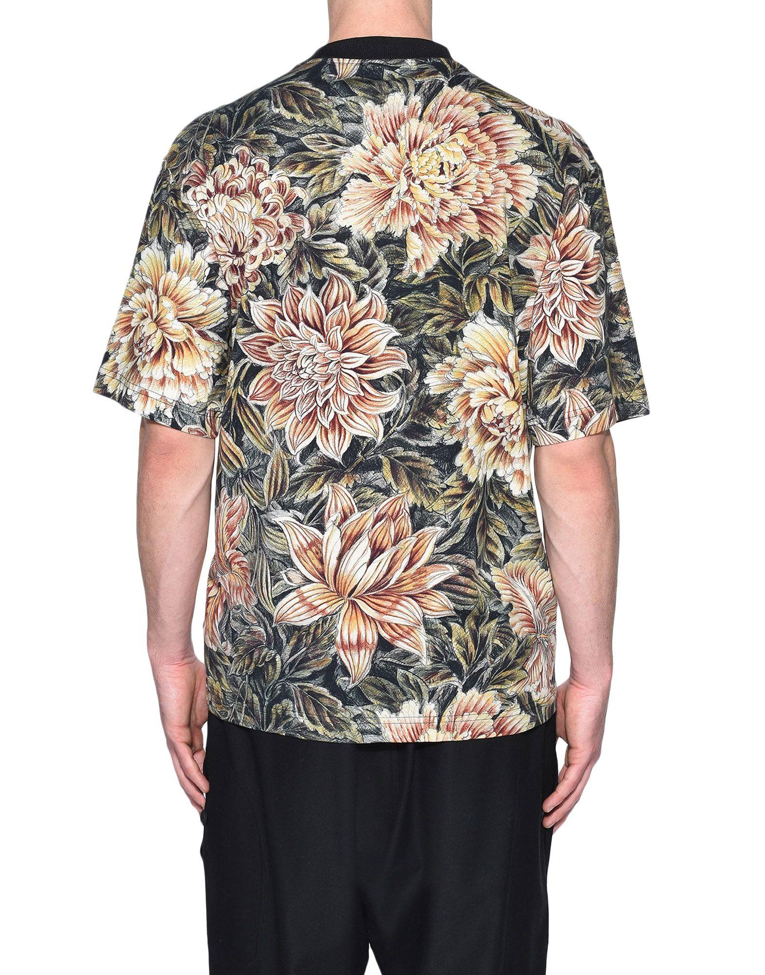 Y-3 Y-3 AOP High Neck Tee Short sleeve t-shirt Man d