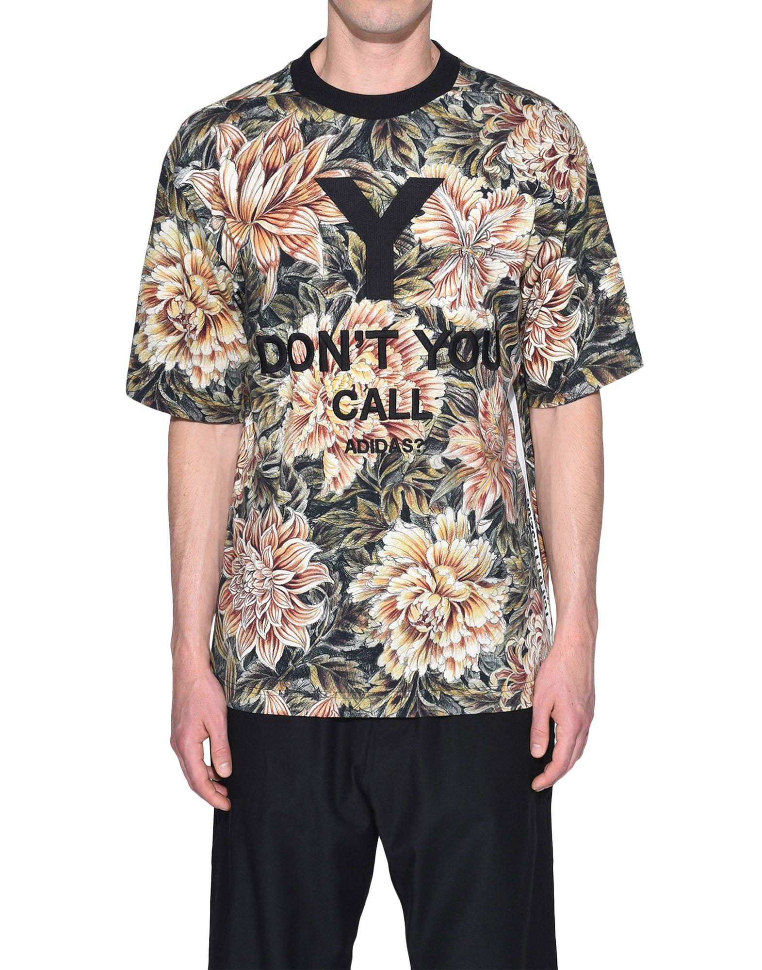 Y-3 Y-3 AOP High Neck Tee Short sleeve t-shirt Man r
