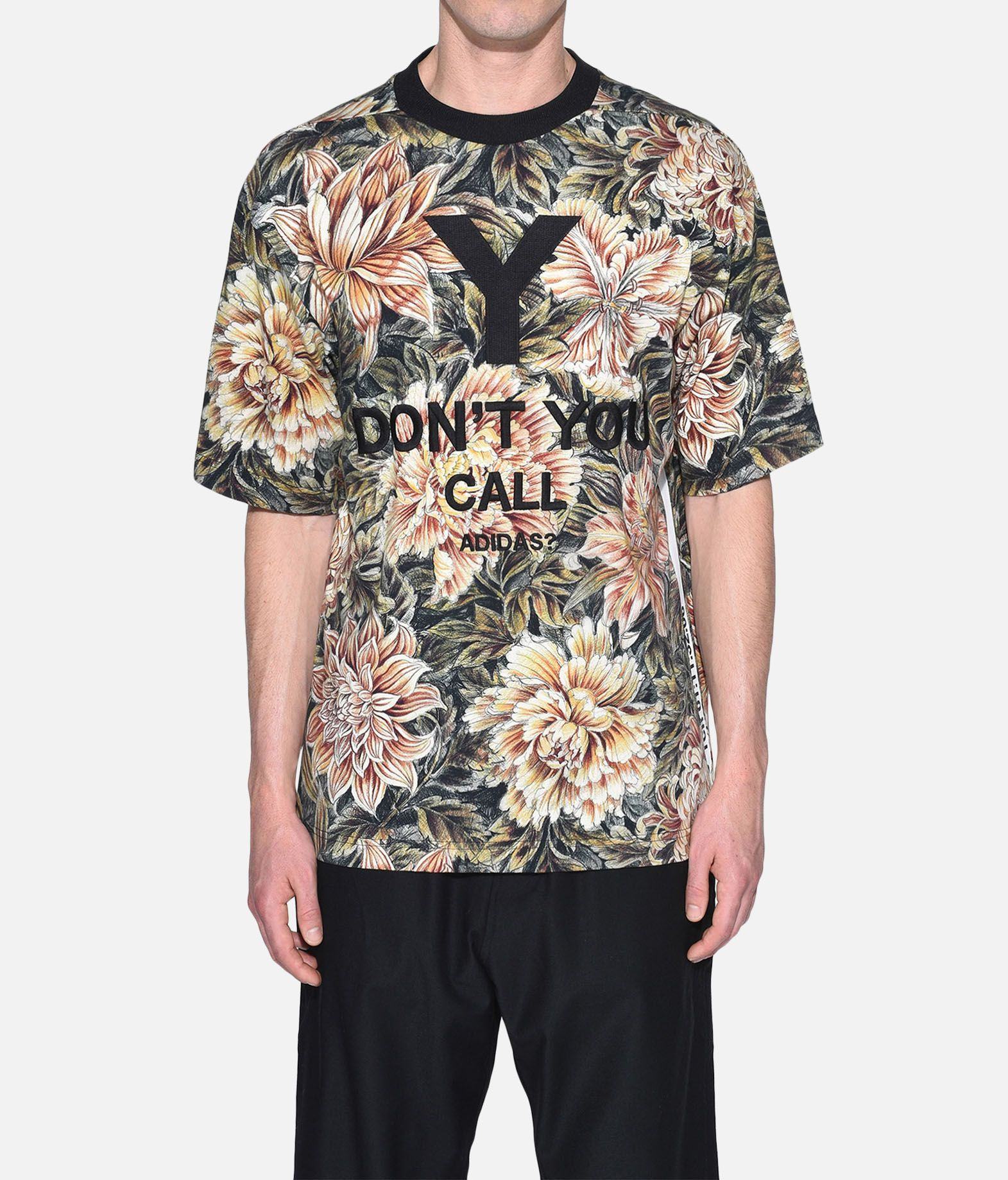 Y-3 Y-3 AOP High Neck Tee Short sleeve t-shirt Man r