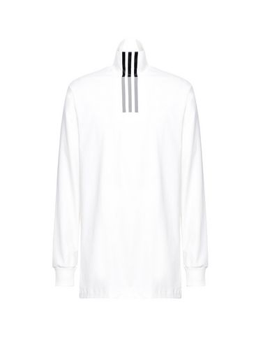 Y-3 3-Stripes High Neck Tee トップス メンズ Y-3 adidas