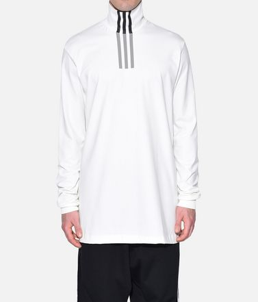 Y-3 Long sleeve t-shirt Man Y-3 3-Stripes High Neck Tee r