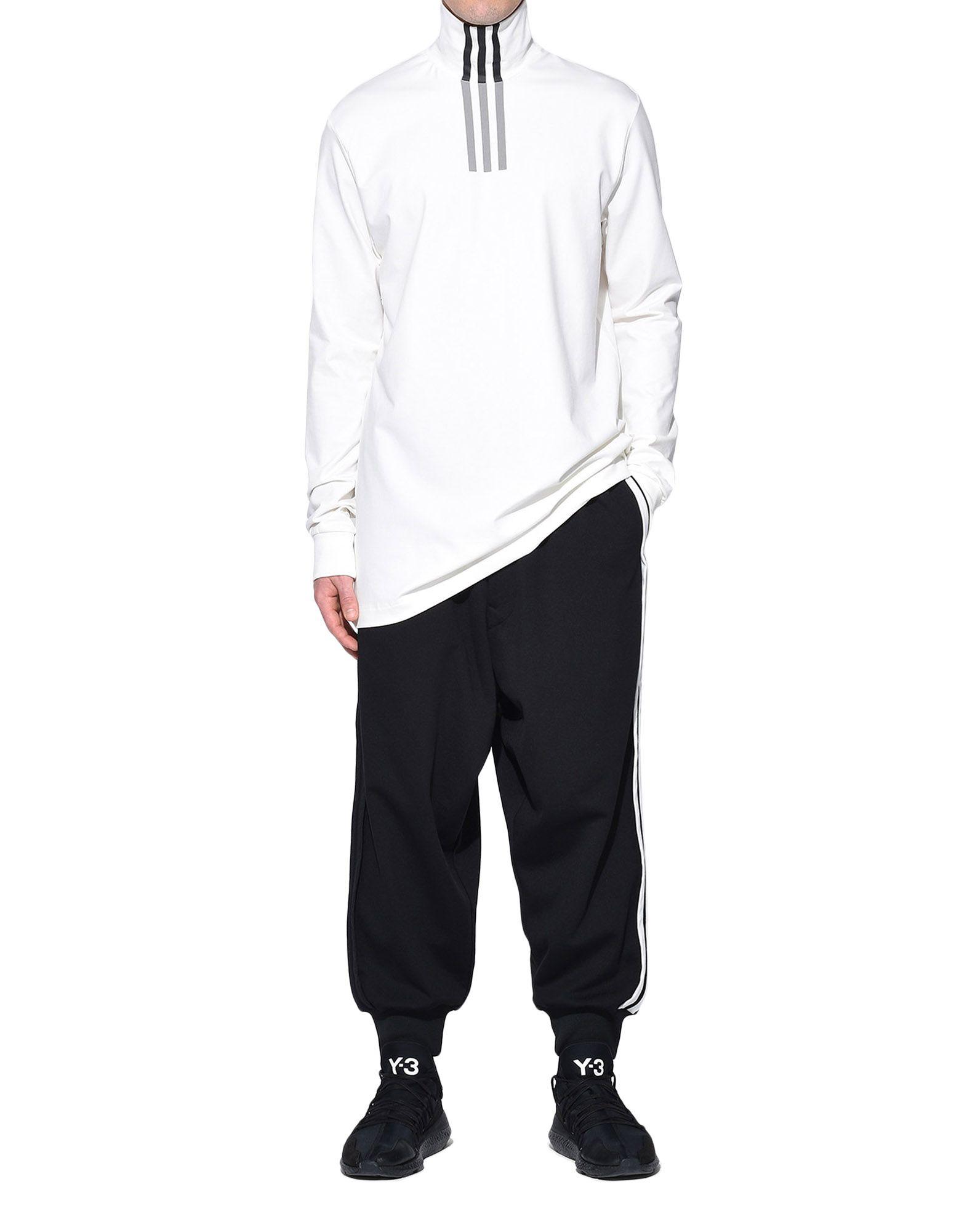 Y-3 Y-3 3-Stripes High Neck Tee Long sleeve t-shirt Man a