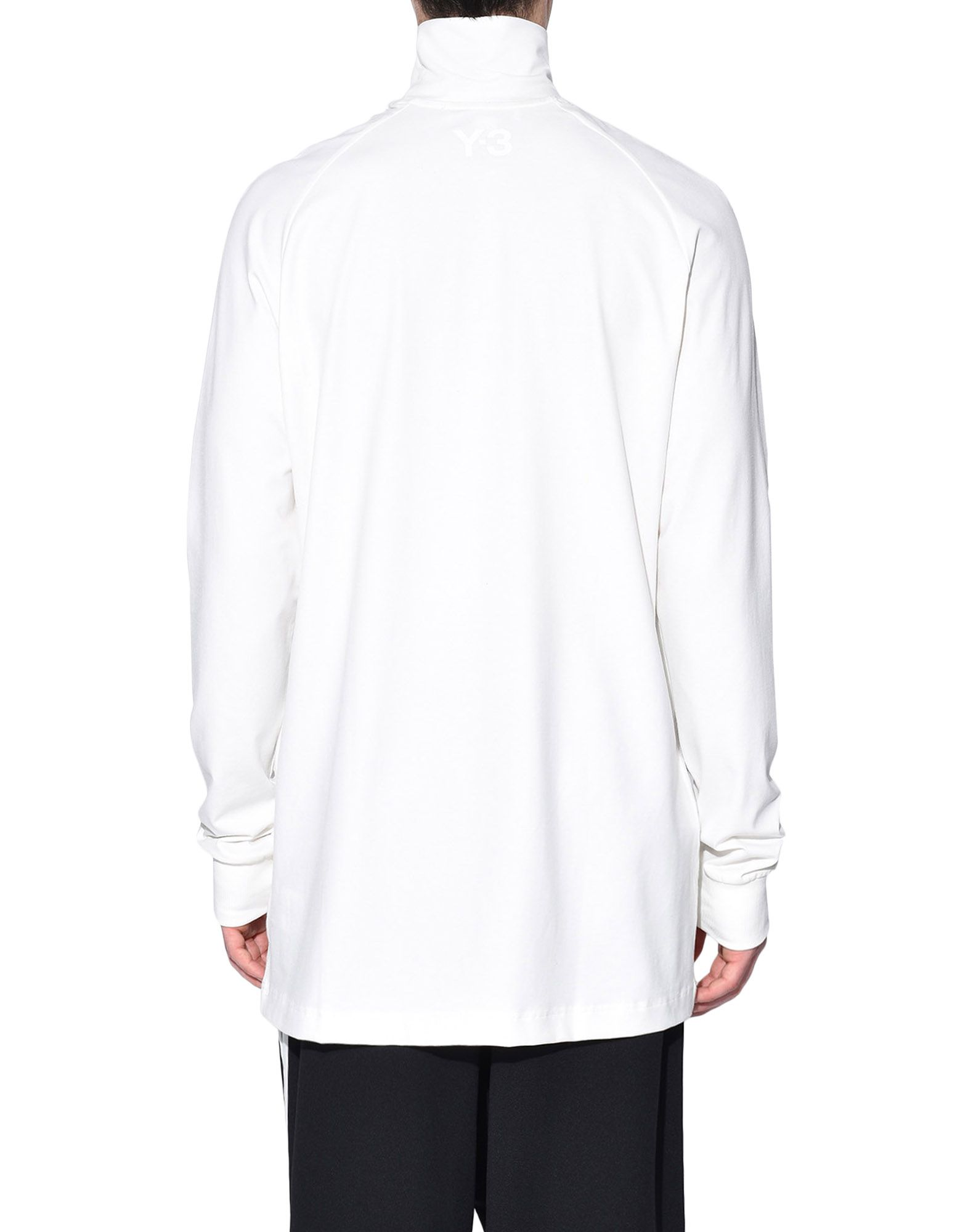 Y-3 Y-3 3-Stripes High Neck Tee Long sleeve t-shirt Man d
