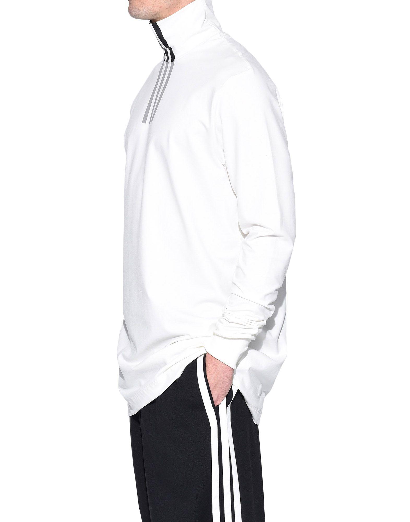 Y-3 Y-3 3-Stripes High Neck Tee Long sleeve t-shirt Man e