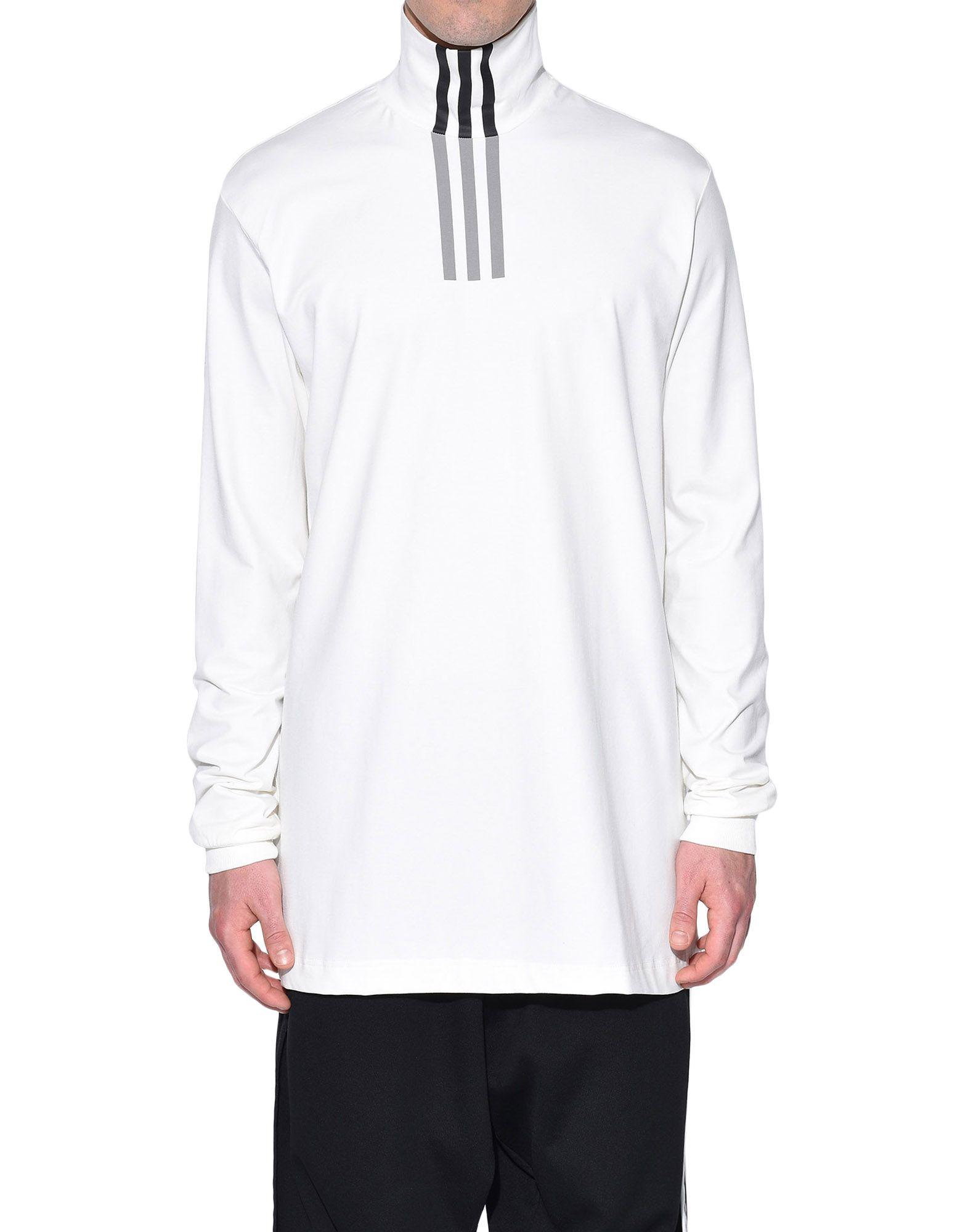 Y-3 Y-3 3-Stripes High Neck Tee Long sleeve t-shirt Man r