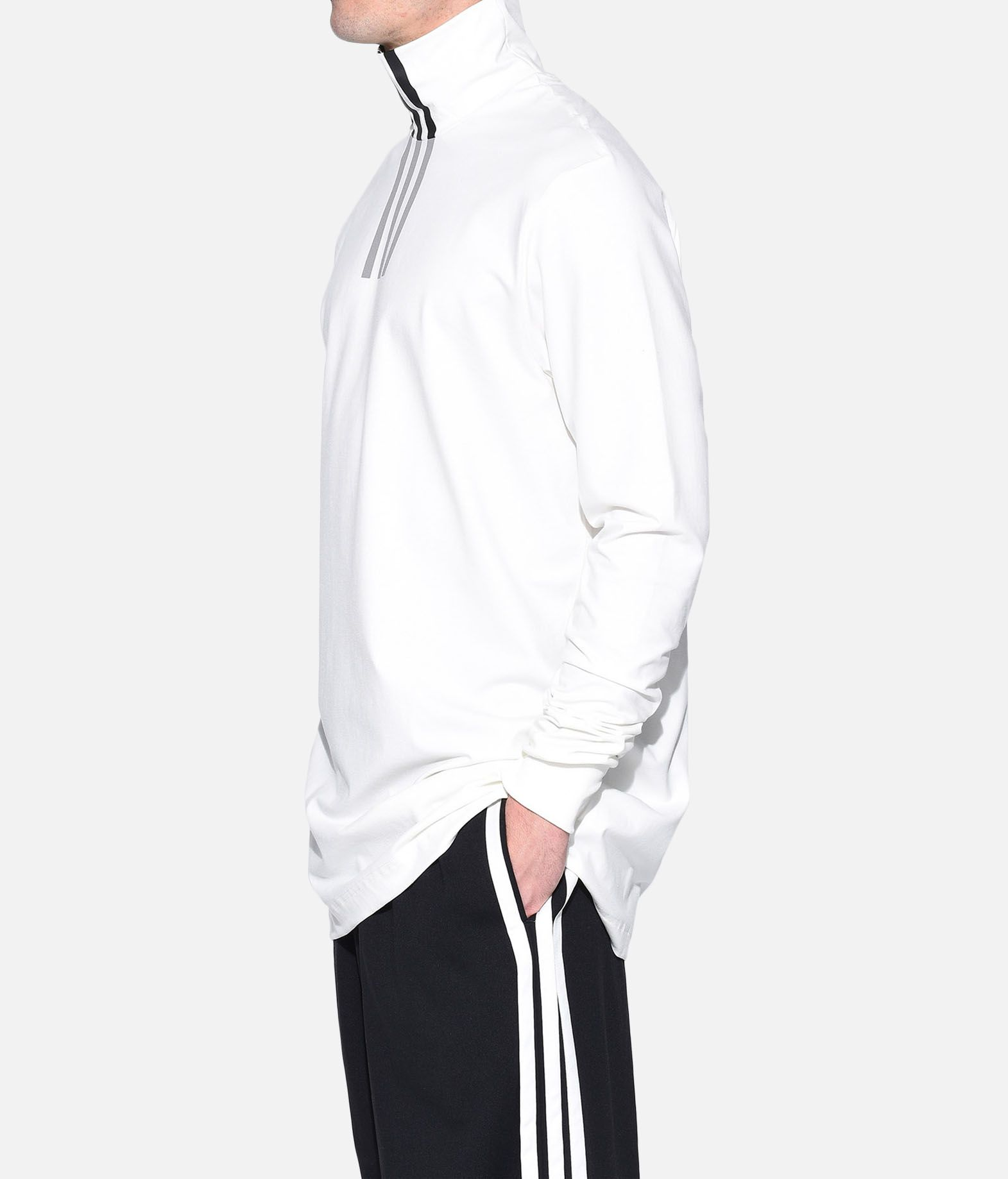 Y-3 Y-3 3-Stripes High Neck Tee Long sleeve t-shirt Man e