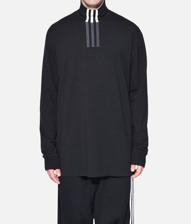 Y-3 Langärmliges T-shirt Herren Y-3 3-Stripes High Neck Tee r
