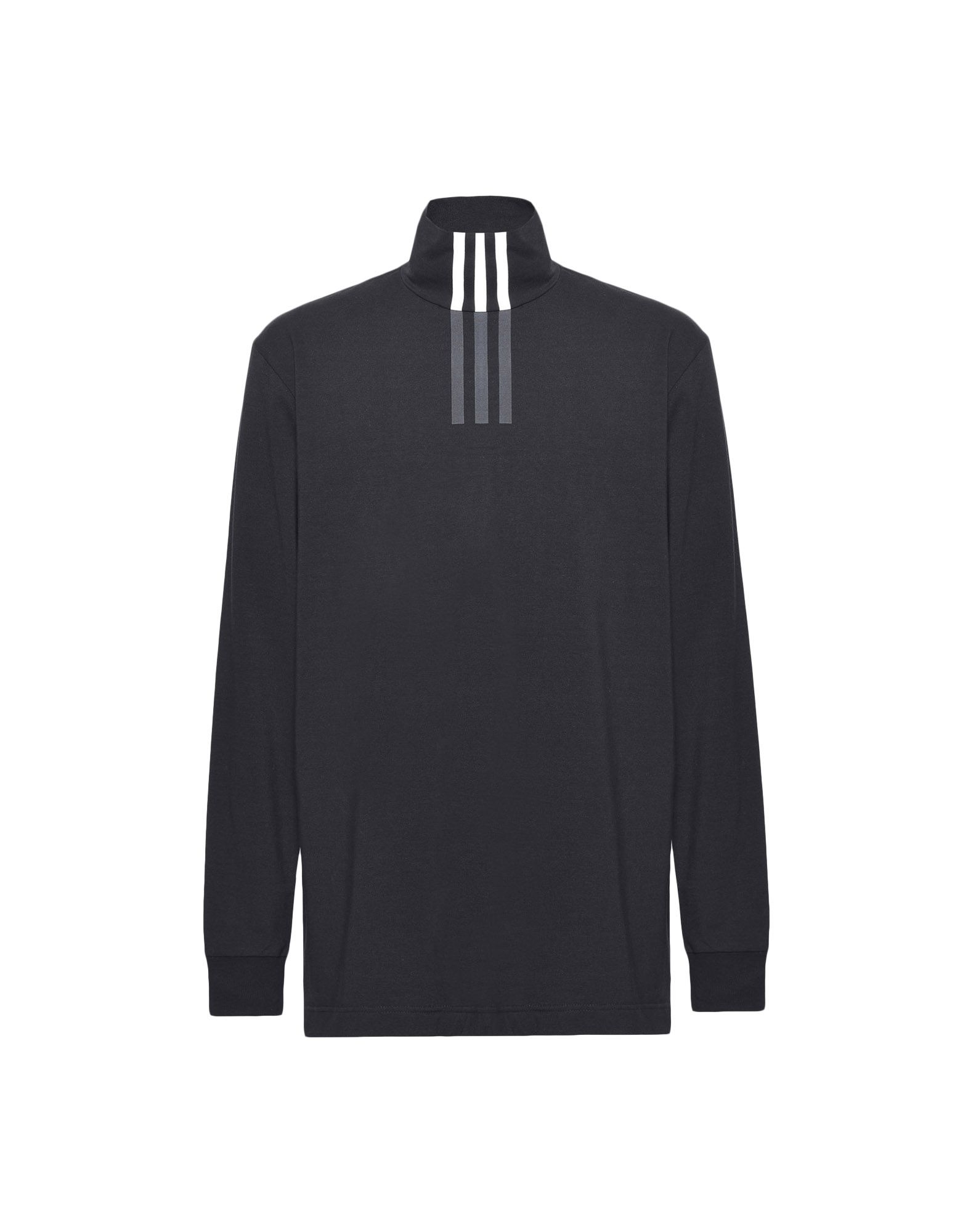 Y-3 Y-3 3-Stripes High Neck Tee Long sleeve t-shirt Man f