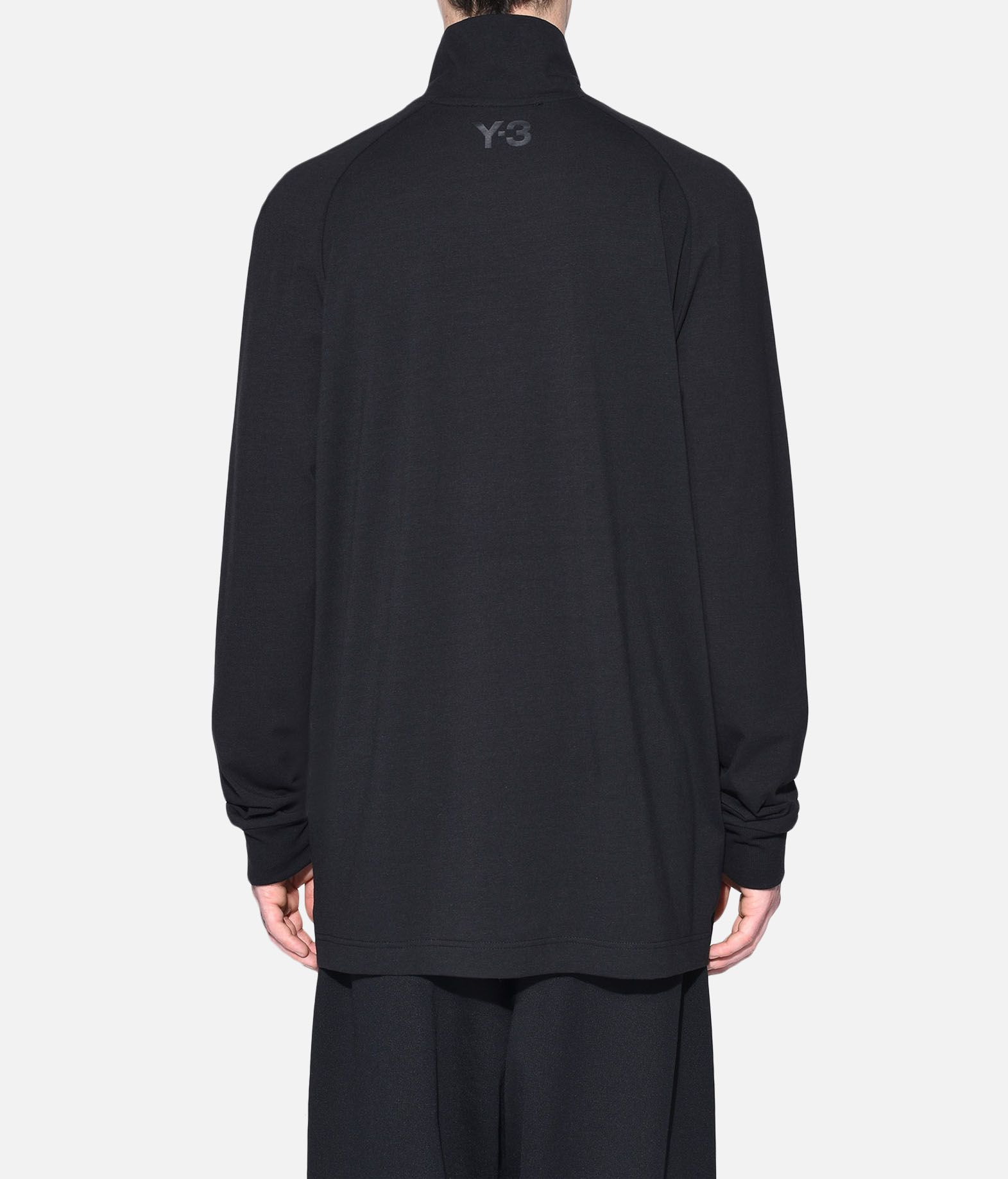 Y-3 Y-3 3-Stripes High Neck Tee Long sleeve t-shirt Man d