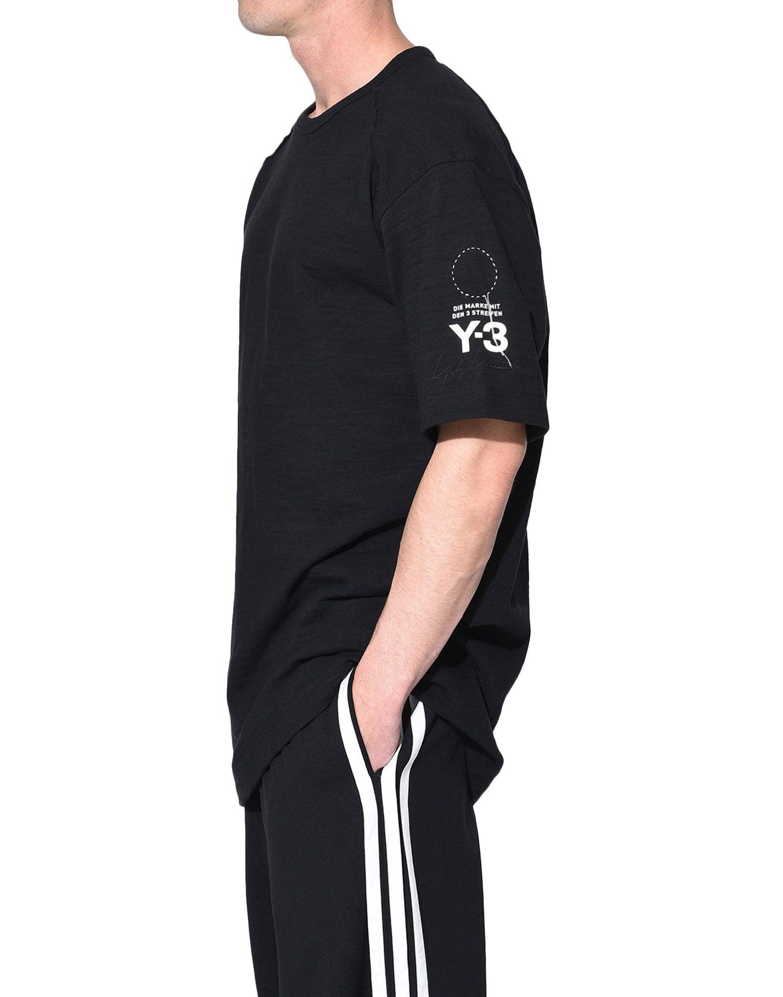 Y-3 Y-3 Sashiko Tee Short sleeve t-shirt Man e