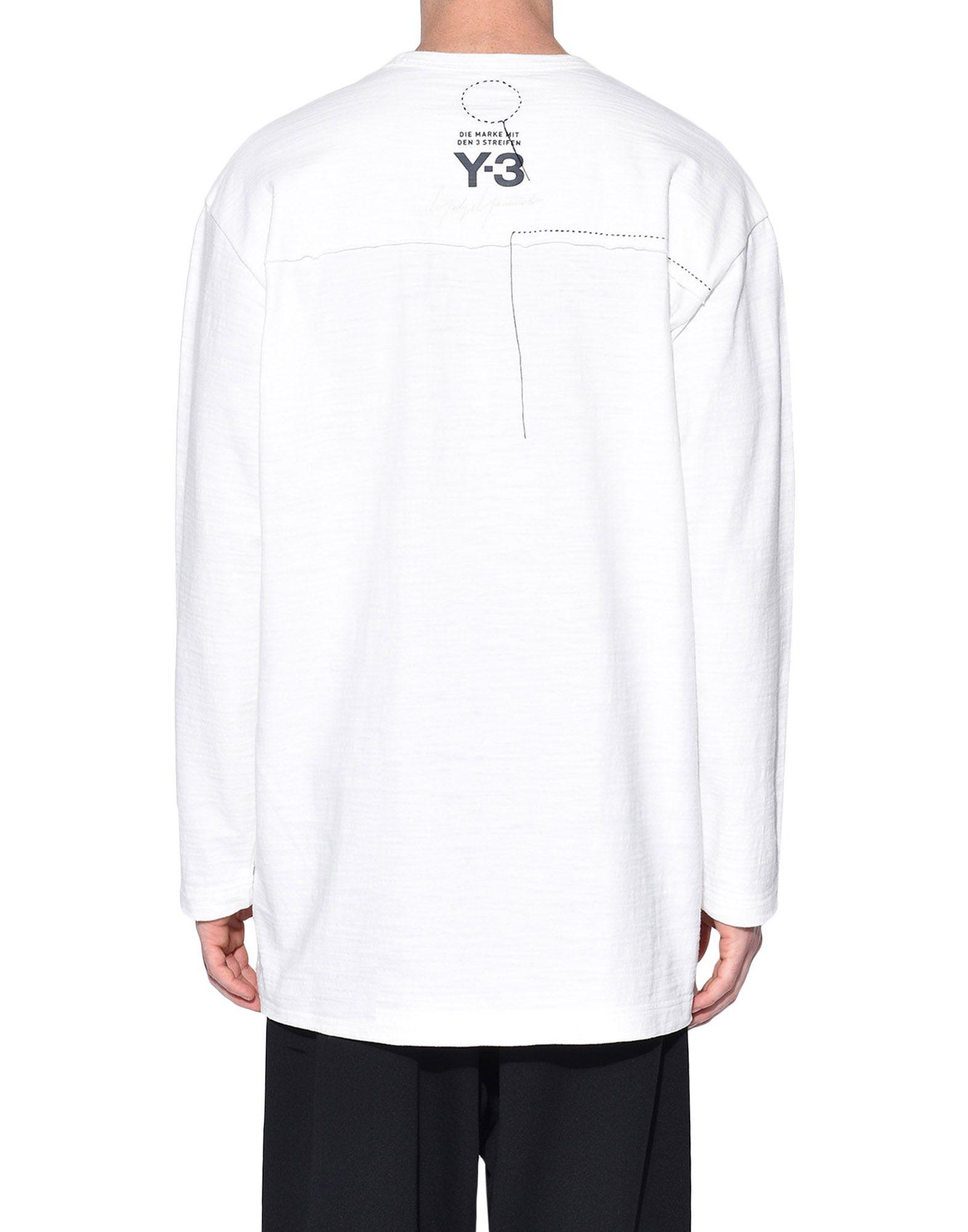 Y-3 Y-3 Sashiko Tee Long sleeve t-shirt Man e
