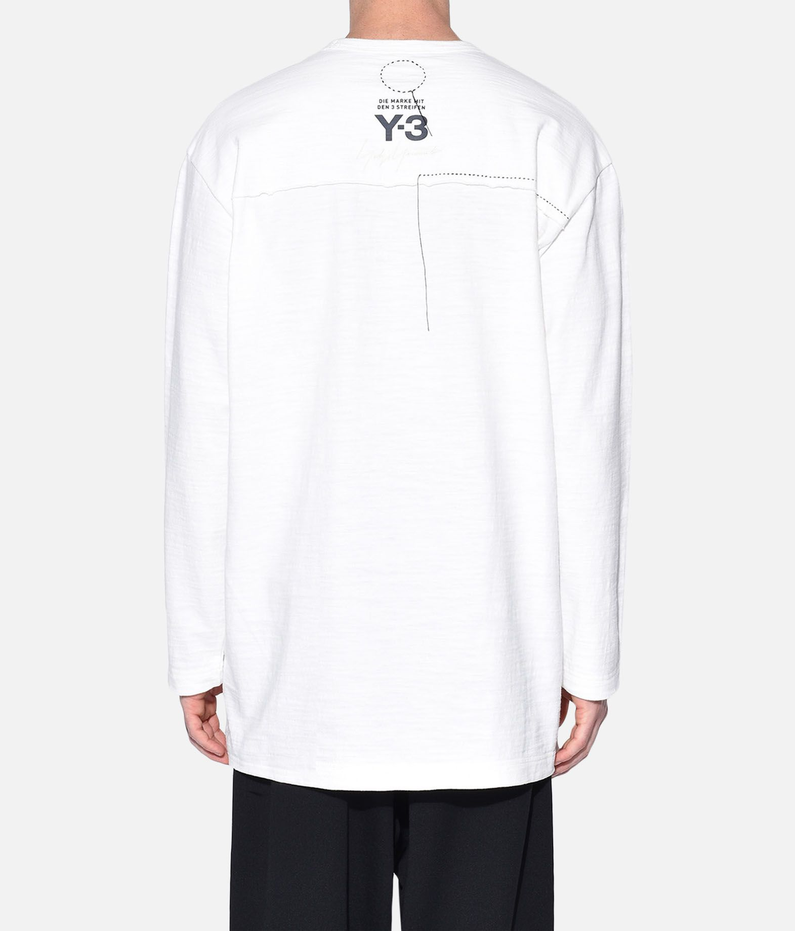 Y-3 Y-3 Sashiko Tee Long sleeve t-shirt Man e