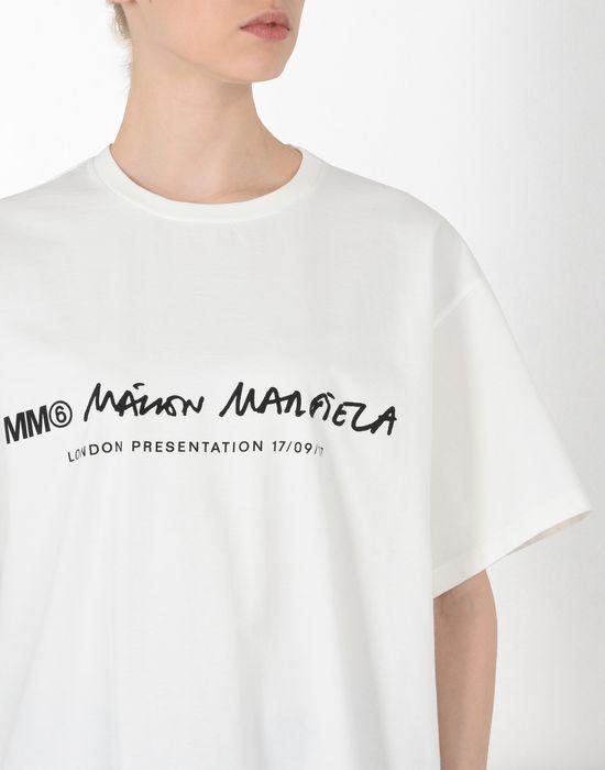 MM6 MAISON MARGIELA Basic cotton T-shirt Short sleeve t-shirt [*** pickupInStoreShipping_info ***] e