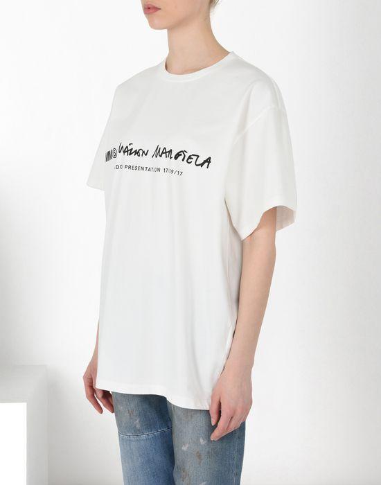 MM6 MAISON MARGIELA Basic cotton T-shirt Short sleeve t-shirt [*** pickupInStoreShipping_info ***] f