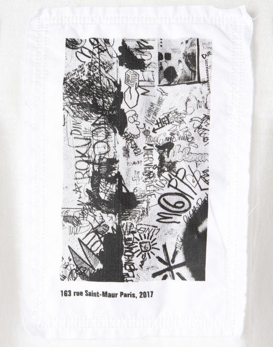 Maison Margiela Tripe Patch T Shirt Women