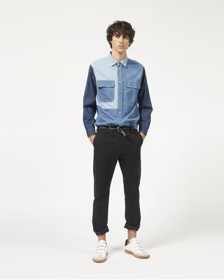 LAOS multi denim shirt