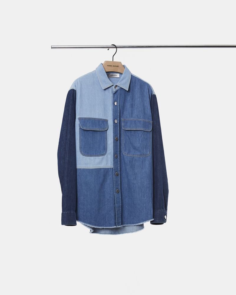 LAOS multi denim shirt ISABEL MARANT
