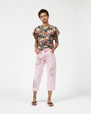 RAMSES floral T-shirt