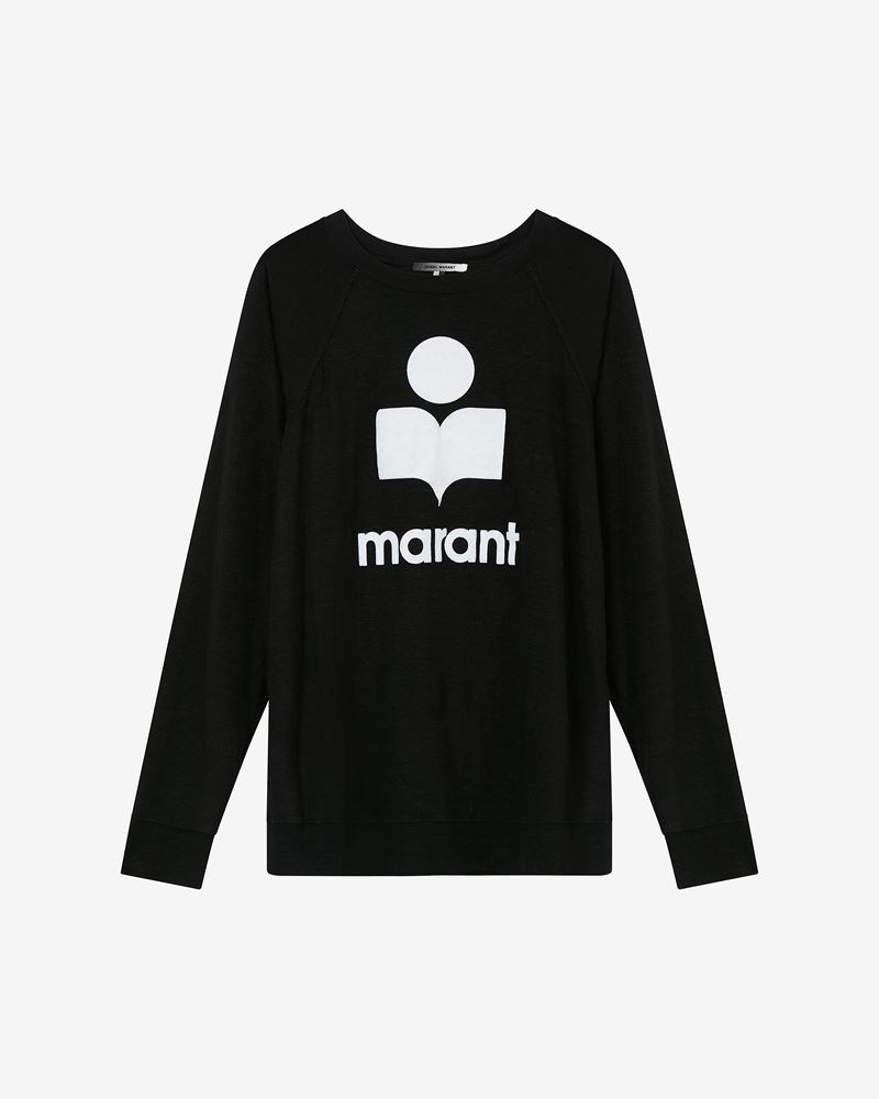 KIEFFER long sleeved logo T-shirt ISABEL MARANT